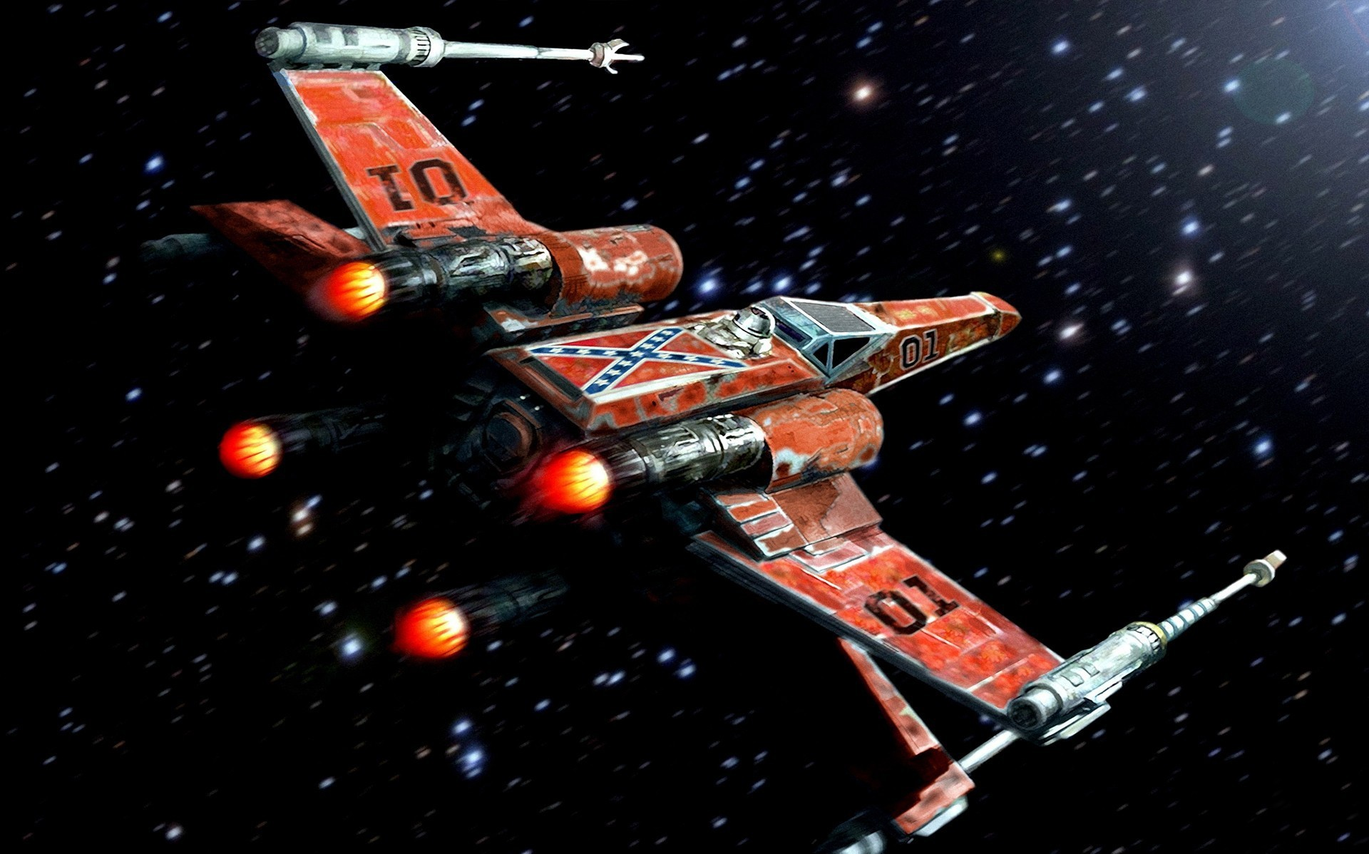Download Rebel Alliance, X-wing, Star Wars, traitor flags  Wallpapers