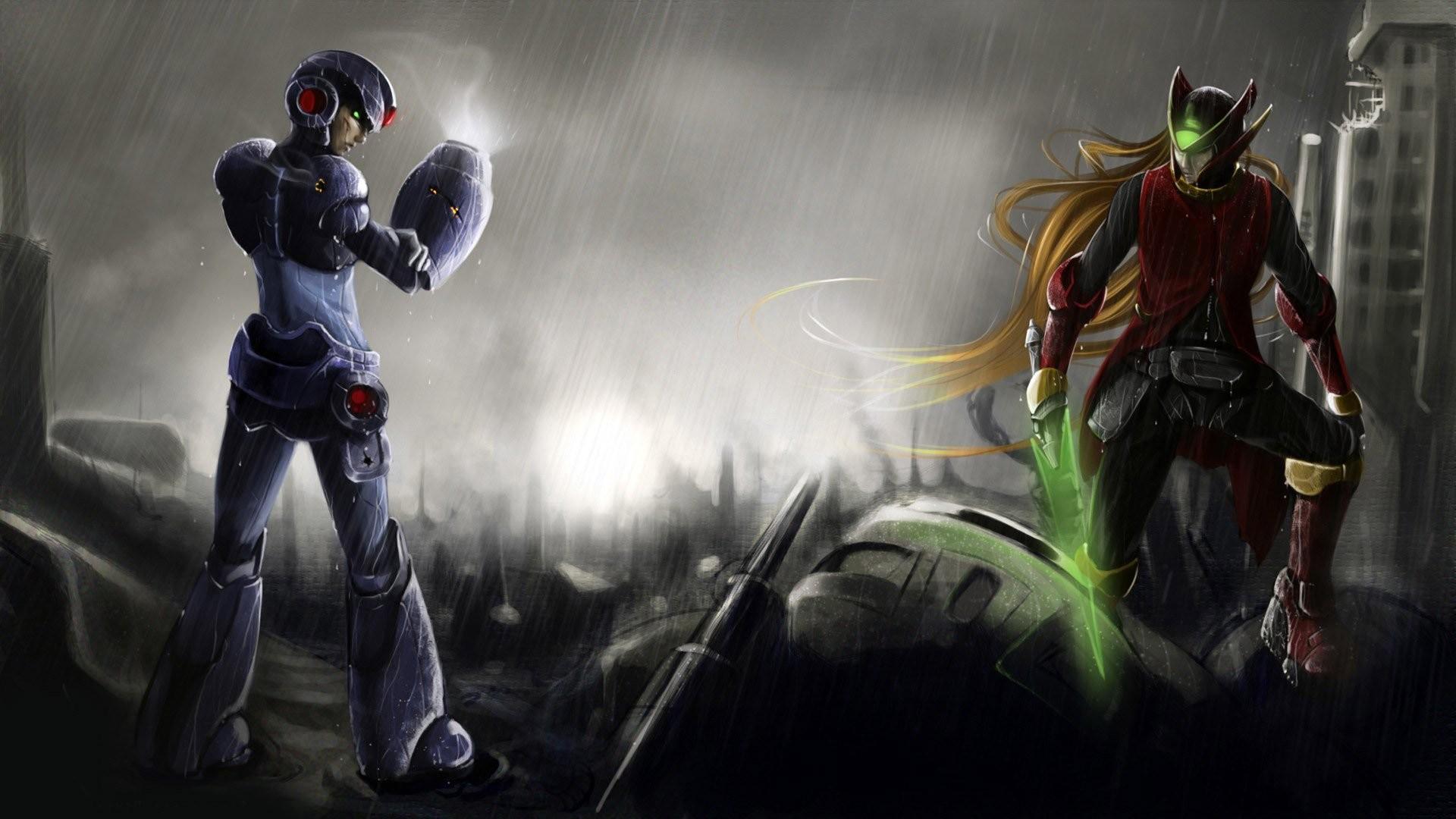 Mega Man And Zero …
