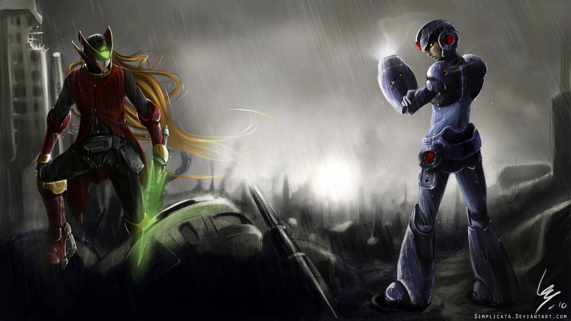 wallpaper Mega Man · Megaman Zero