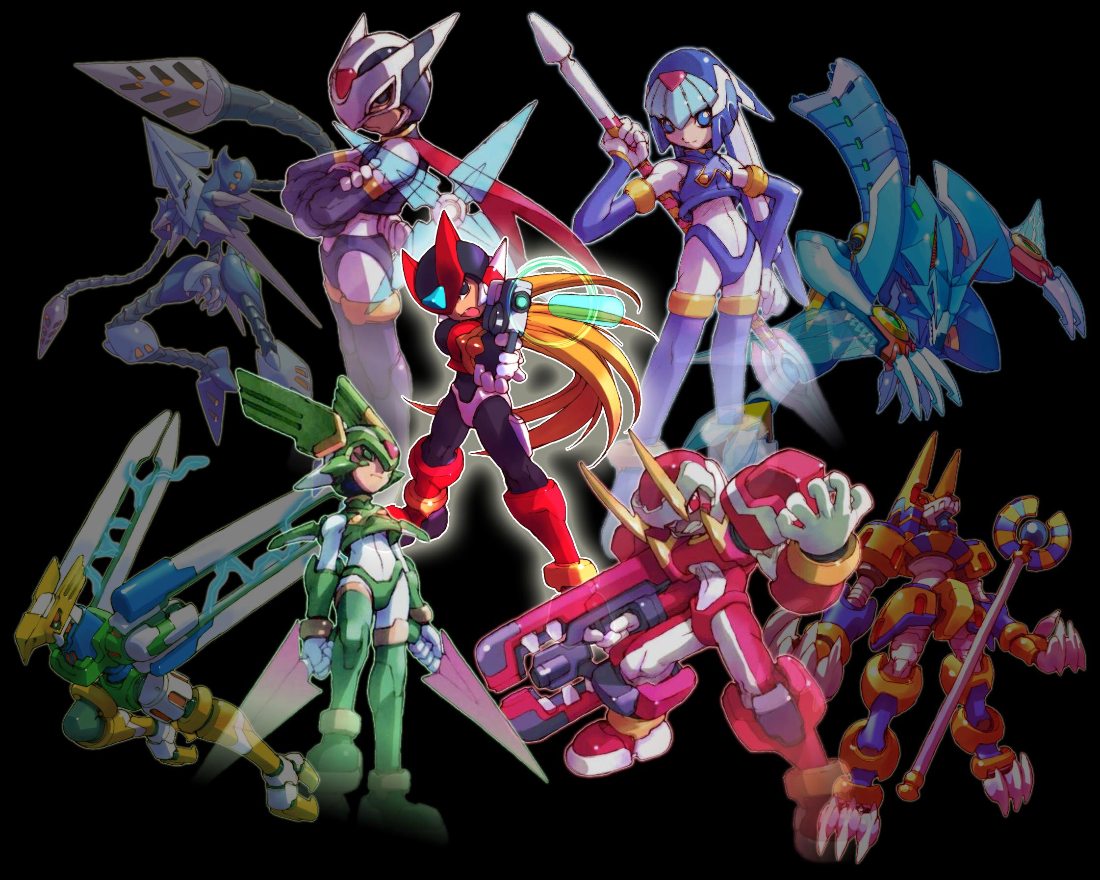 Megaman Zero Piece by bluesonic1 on DeviantArt