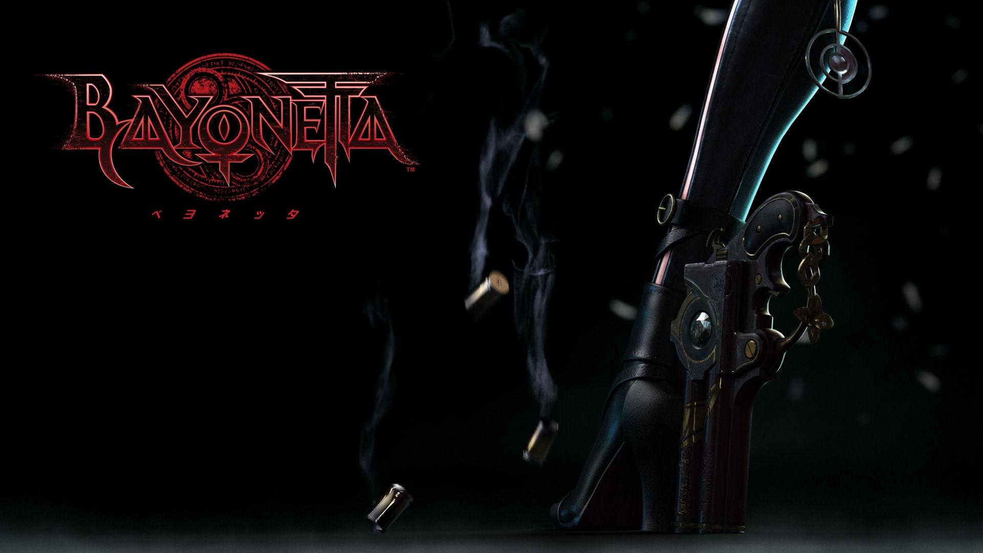 Bayonetta Desktop Background.