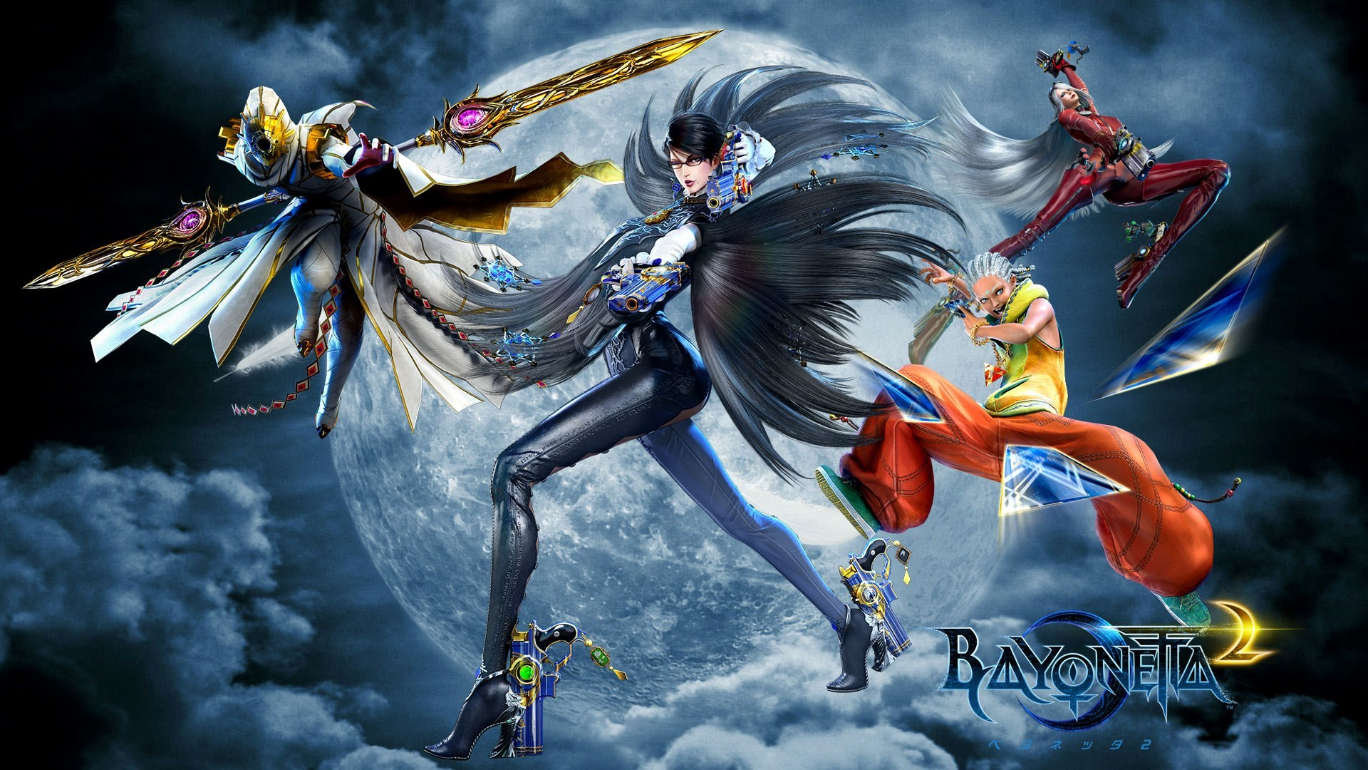Bayonetta 2 wallpaper for desktop background by Clay Ross (2016-02-23)