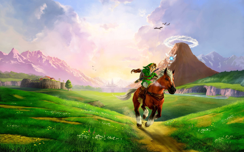 The Legend of Zelda Ocarina of Time Ultra HD Wallpaper, 4k – HD .