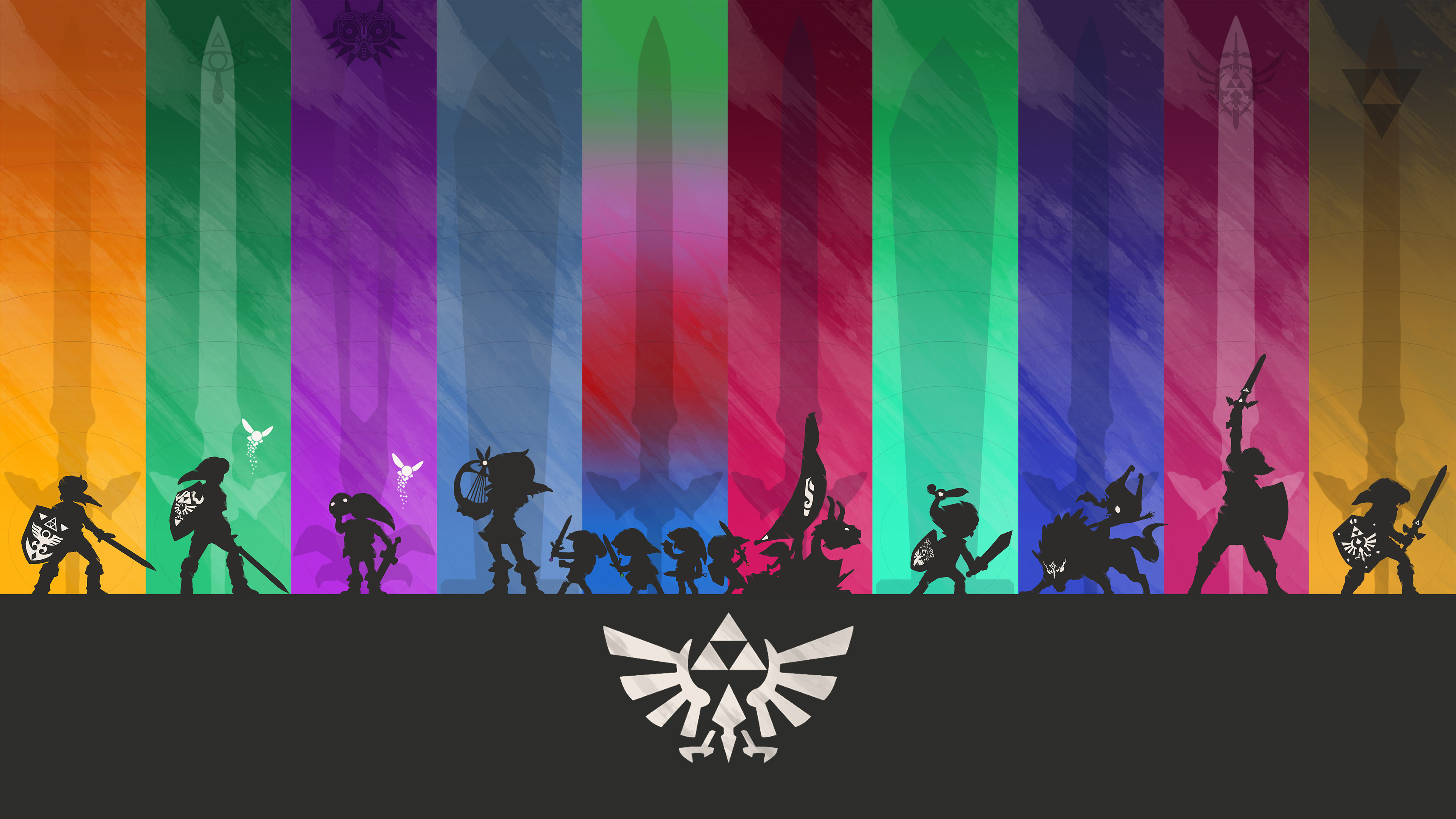 … Minimalistic Legend of Zelda Wallpaper (4K) by henrikpw