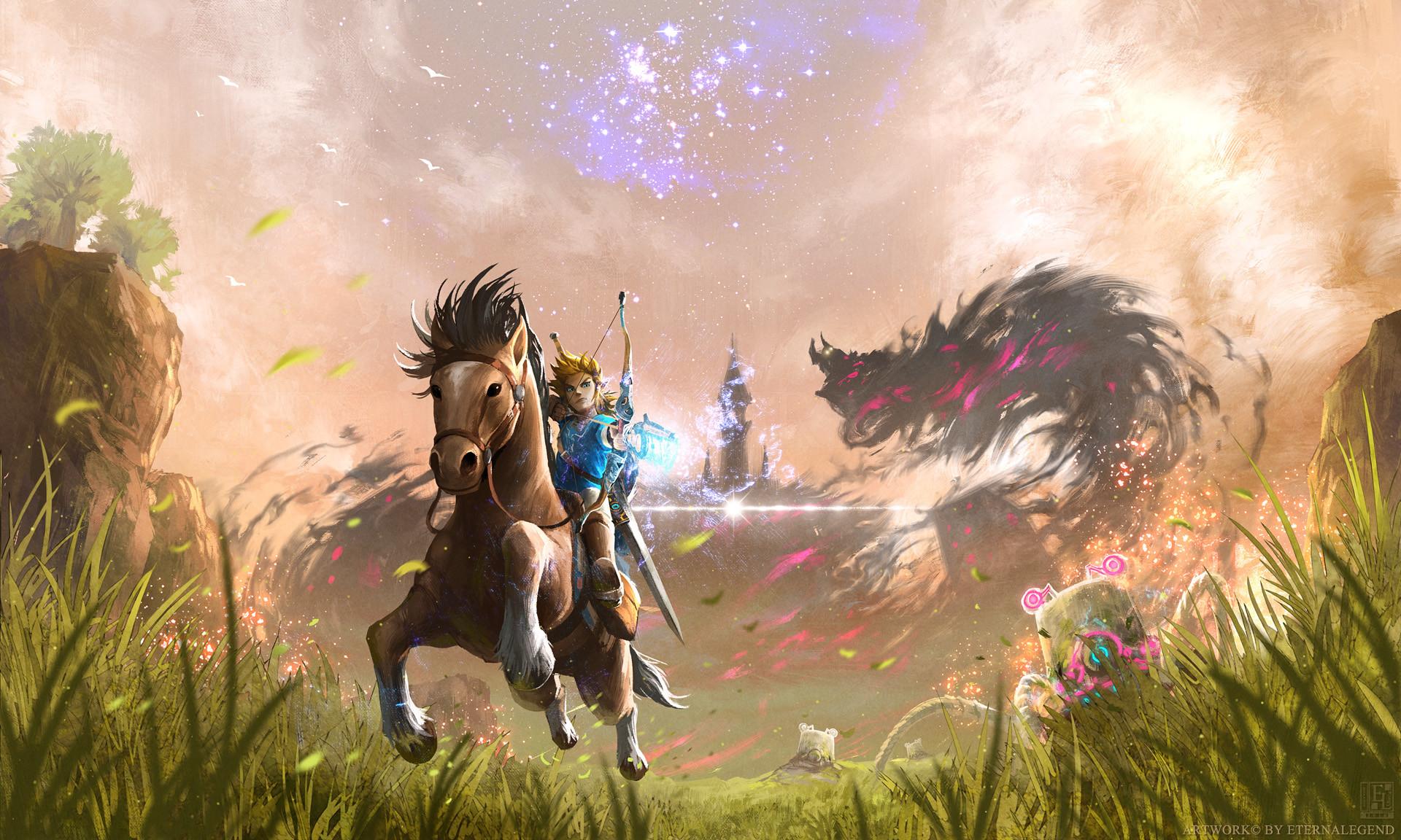 The Legend Of Zelda Art 2048×1152 Resolution