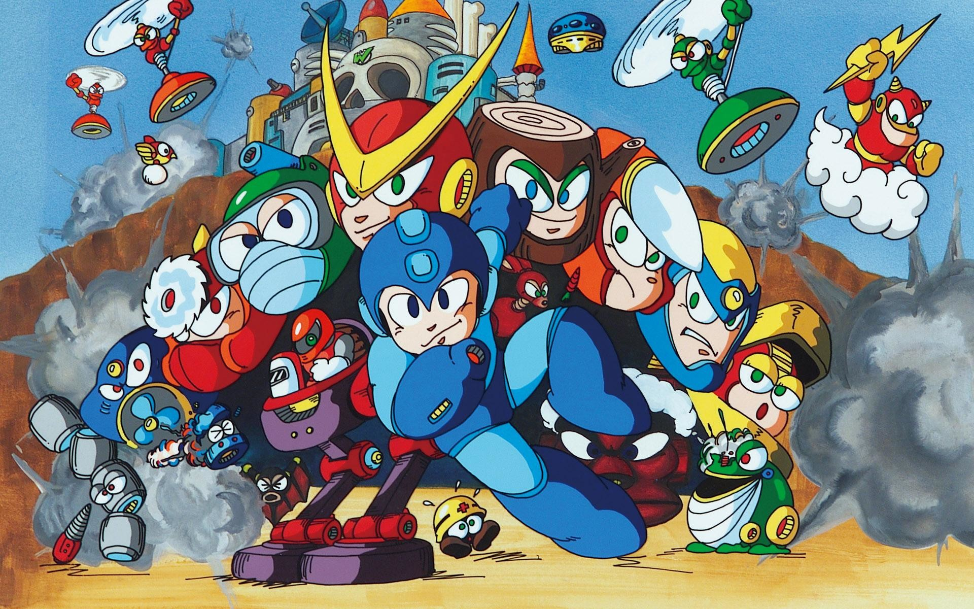 Megaman-Wallpaper-Images-Background-Desktop