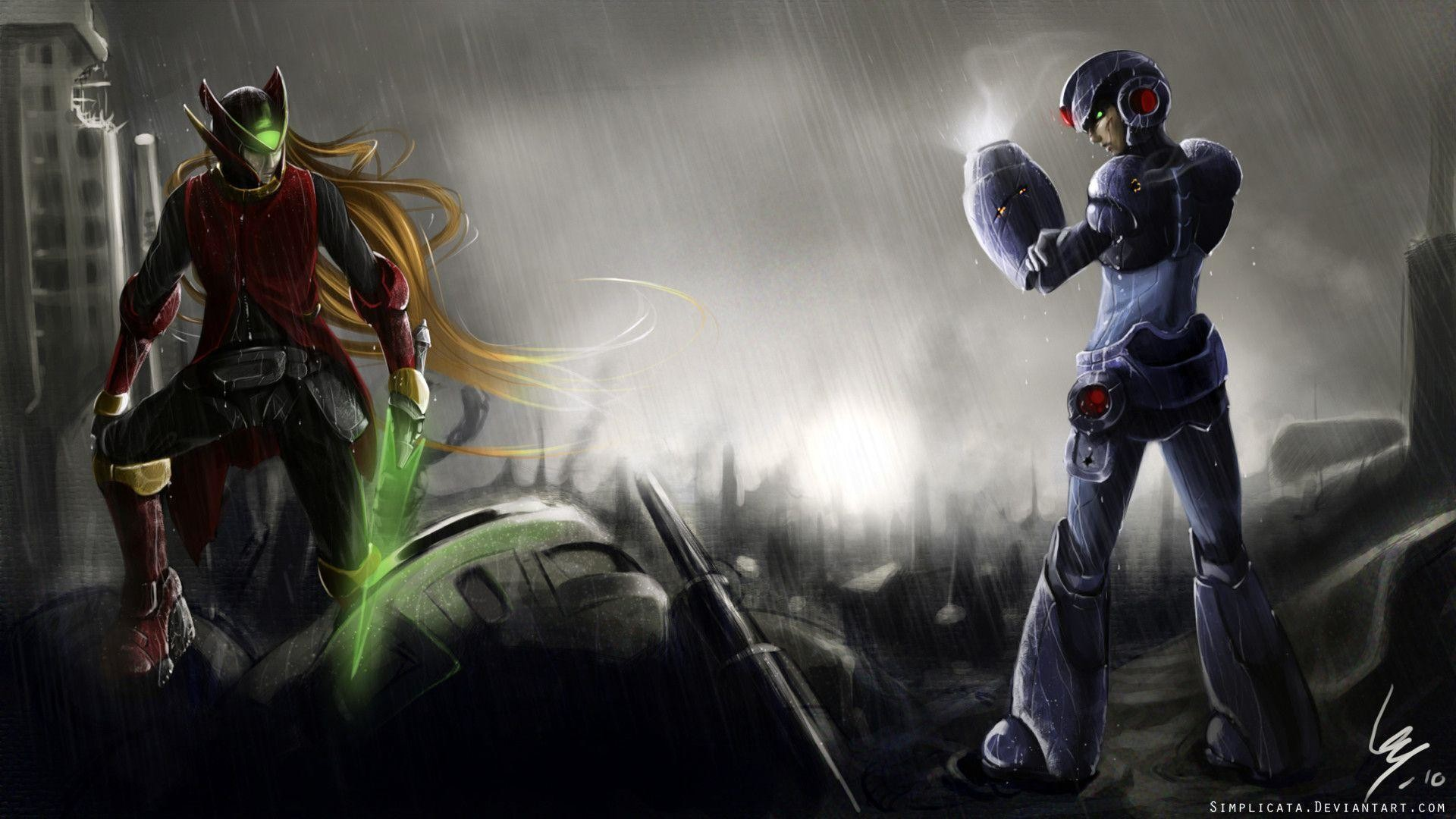 <b>Mega Man</b> iPhone <b>Wallpaper</