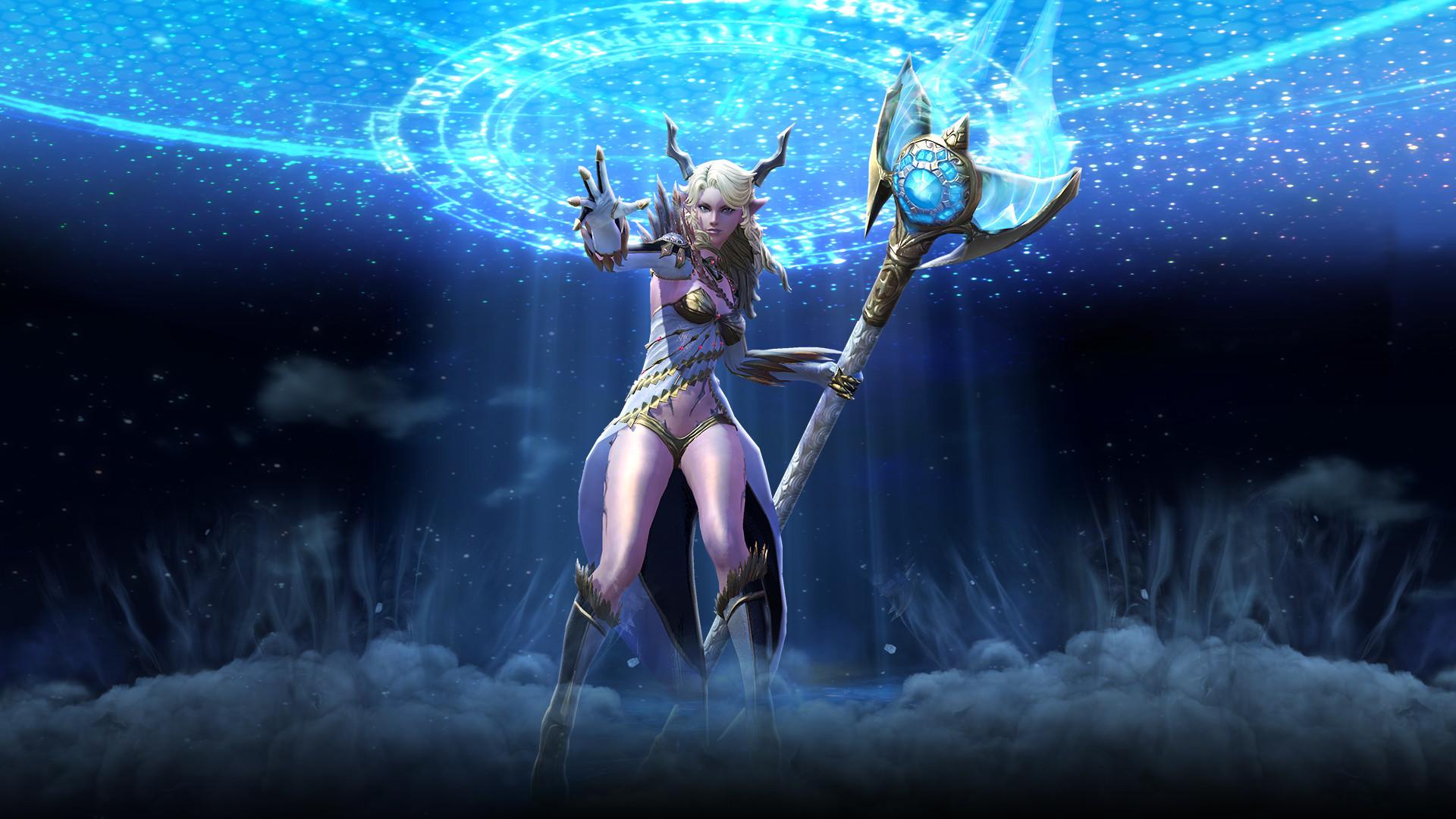 Priest. TERA archer celestial weapons