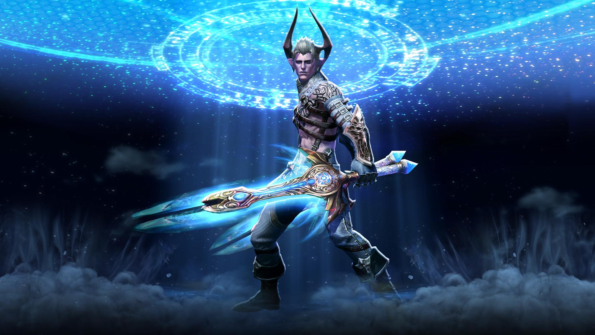 Warrior. TERA priest celestial weapons