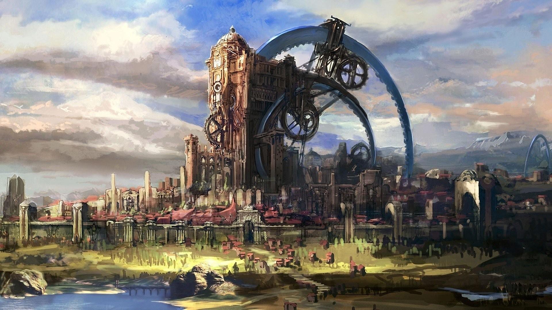 Cityscapes fantasy art artwork Tera Online wallpaper     307833    WallpaperUP