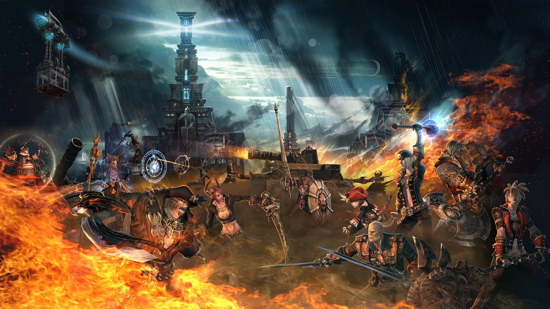 TERA corsairs' stronghold
