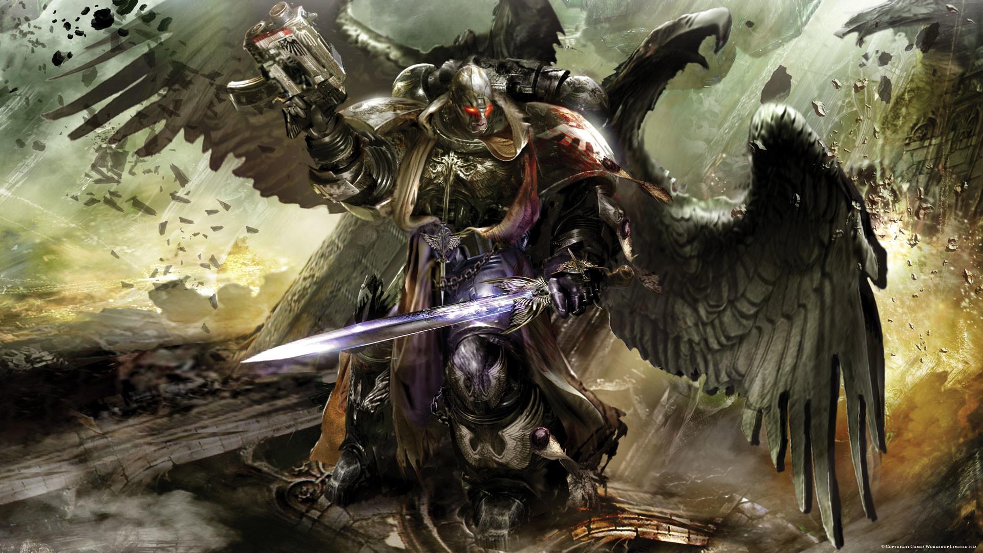 Dark Angels 40K wallpaper – 1158256