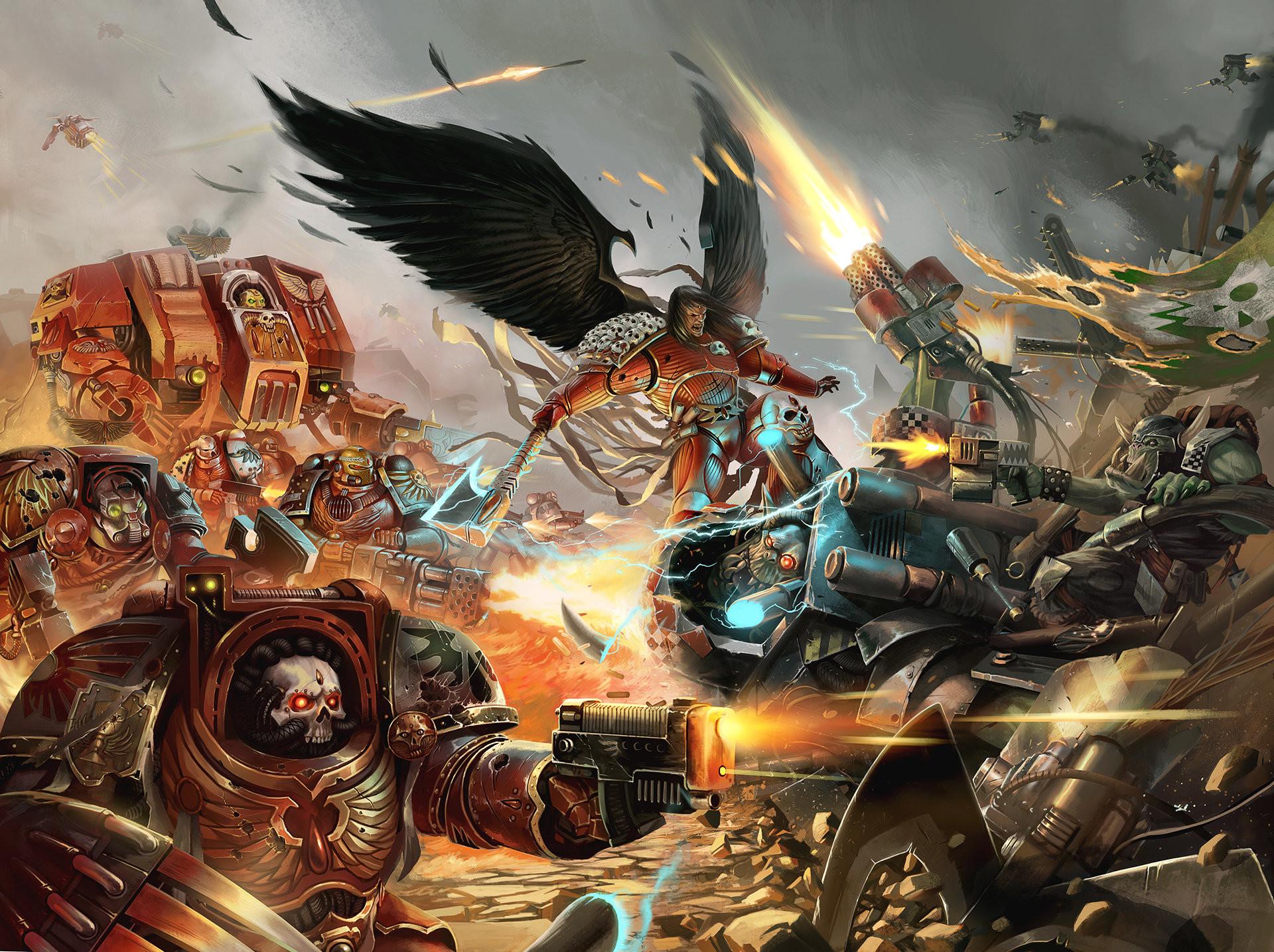 71 Warhammer 40k Blood Angels