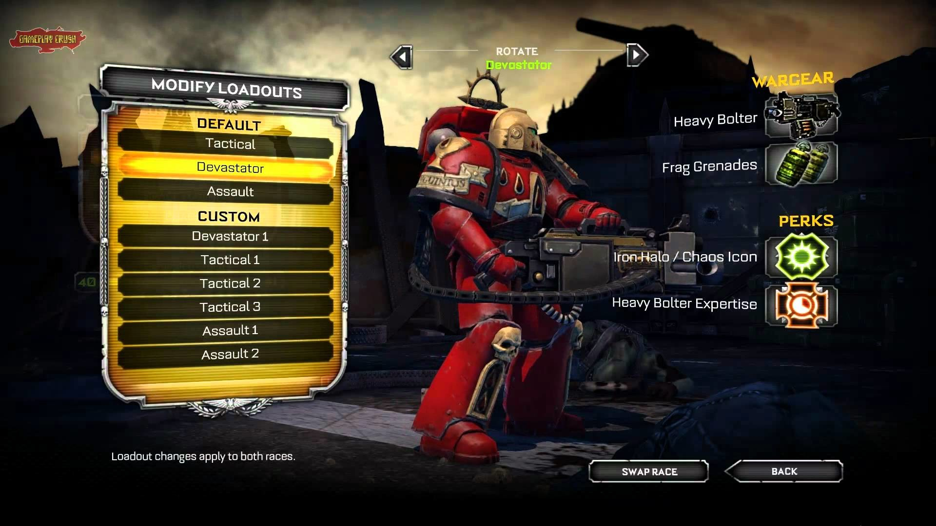Warhammer 40k: Space Marine: Blood Angels Chapter All classes