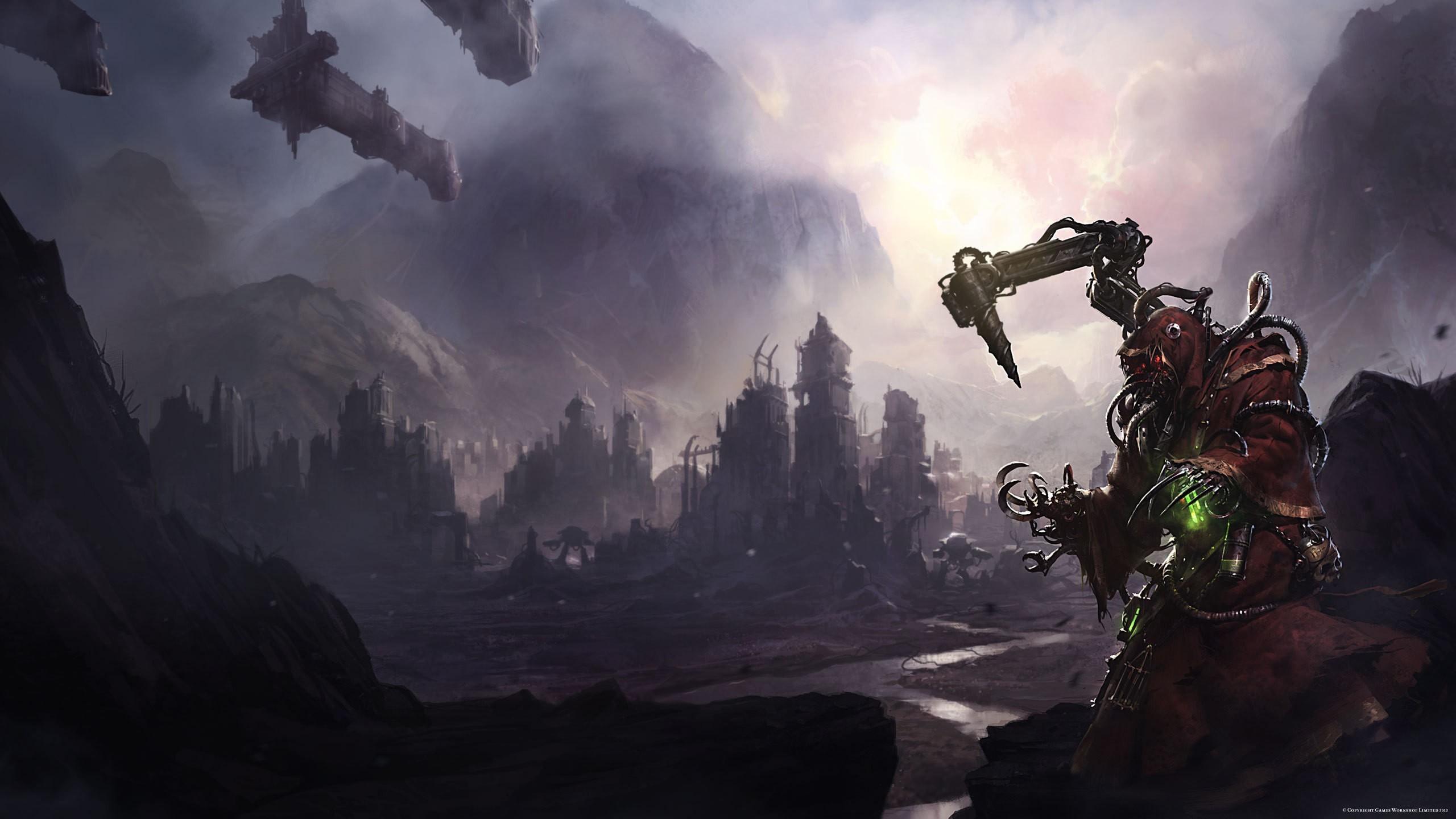 000 Fantasy Art Ruins Science Fiction Video Games Warhammer 40 …