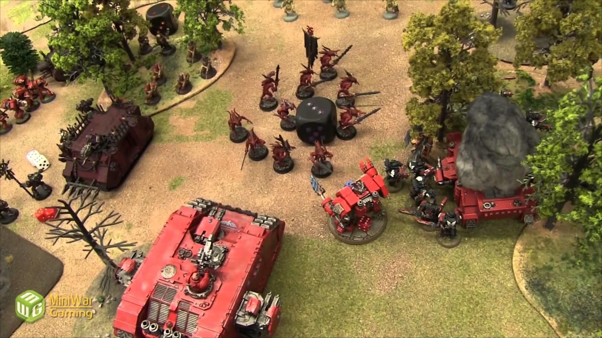 Chaos vs Blood Angels Warhammer 40k Battle Report – Banter Batrep Ep 50 –  YouTube