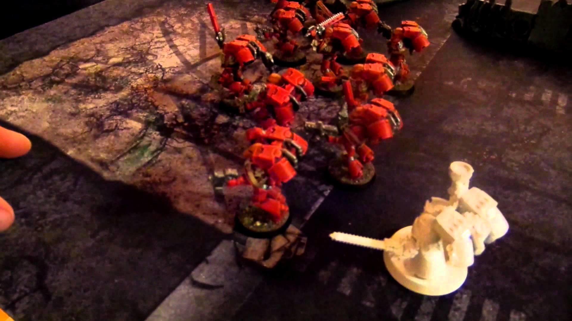 WH40K Batrep [1000pt] – Blood Angels vs. Cult Mechanicus!