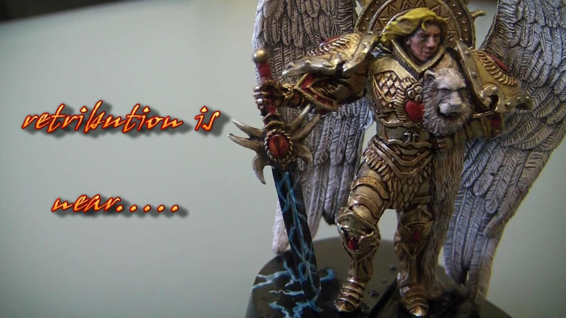 Warhammer 40K Black Rage # 16 Primarch Sanguinius of the Blood Angels –  YouTube