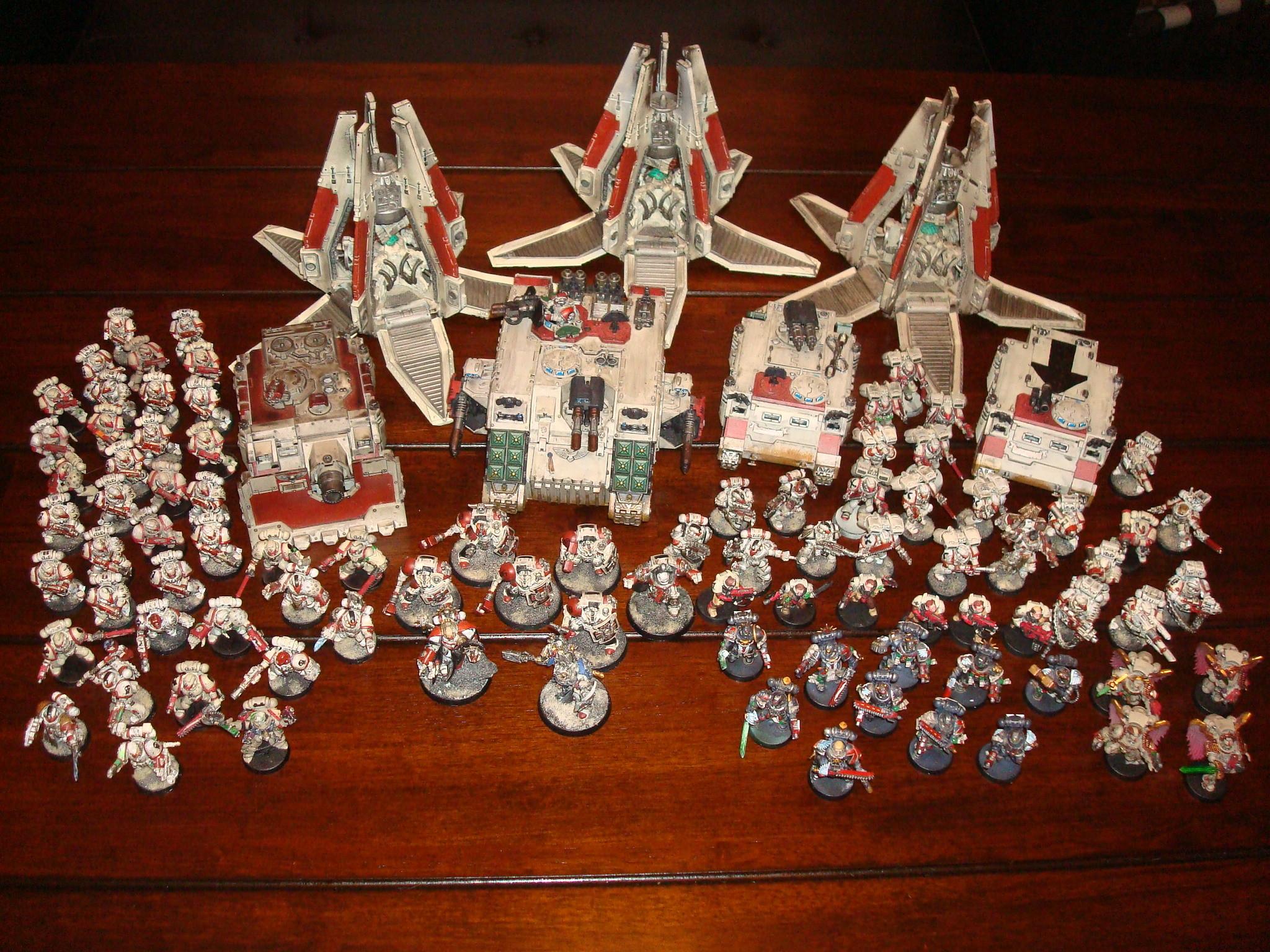 Warhammer 40K Blood Angels Space Marine Army