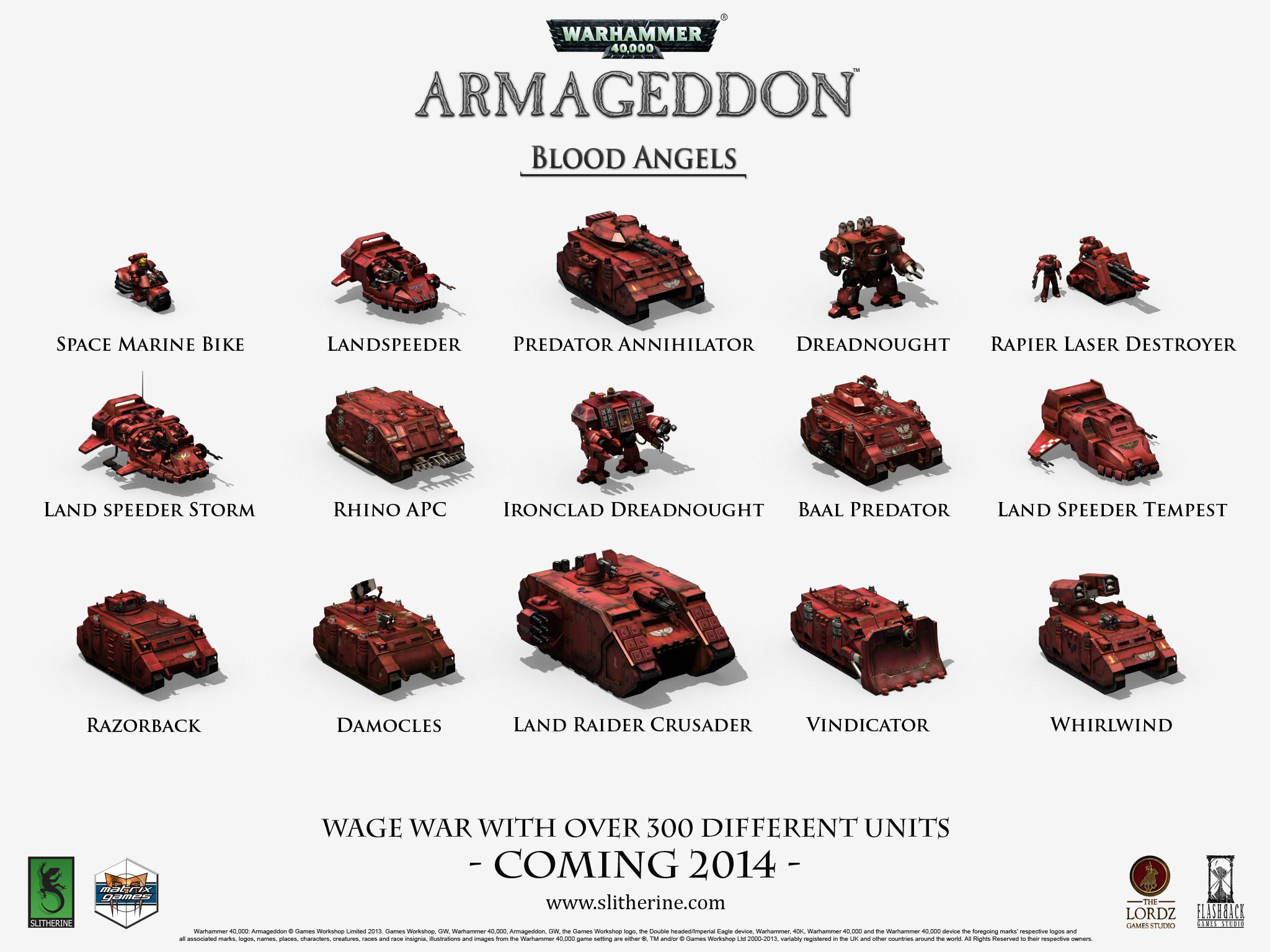 Warhammer 40,000 Armageddon Wallpapers!