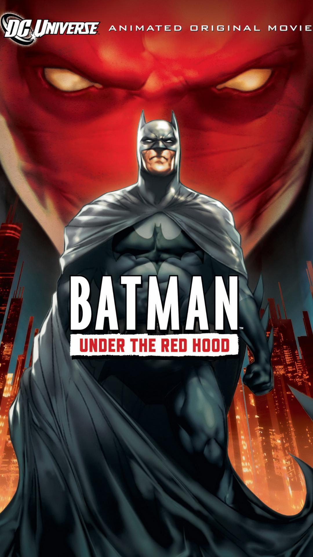 Batman – Under the Red Hood Galaxy S5 Wallpaper (1080×1920) | 1080 x 1920