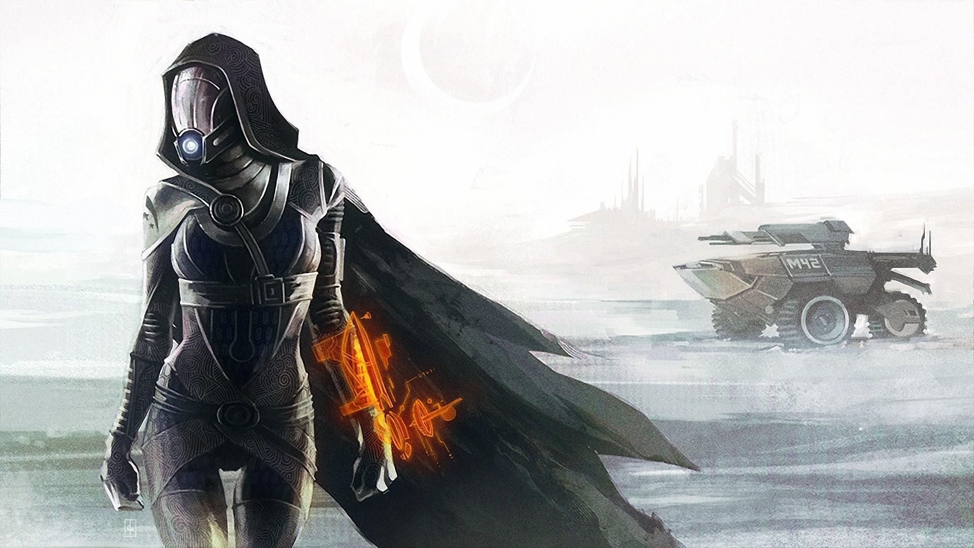 Mass Effect Tali Zorah Games Girls sci-fi warrior wallpaper | |  147151 | WallpaperUP