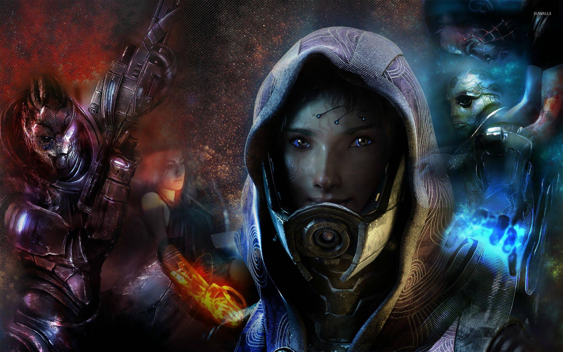 Tali – Mass Effect wallpaper