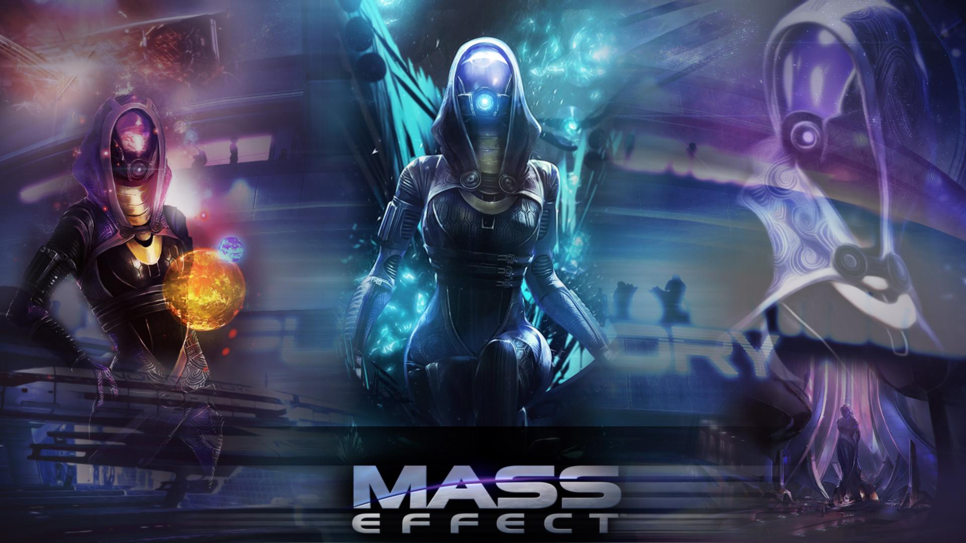 … Mass Effect – Tali'zorah Wallpaper by ShunKazami787