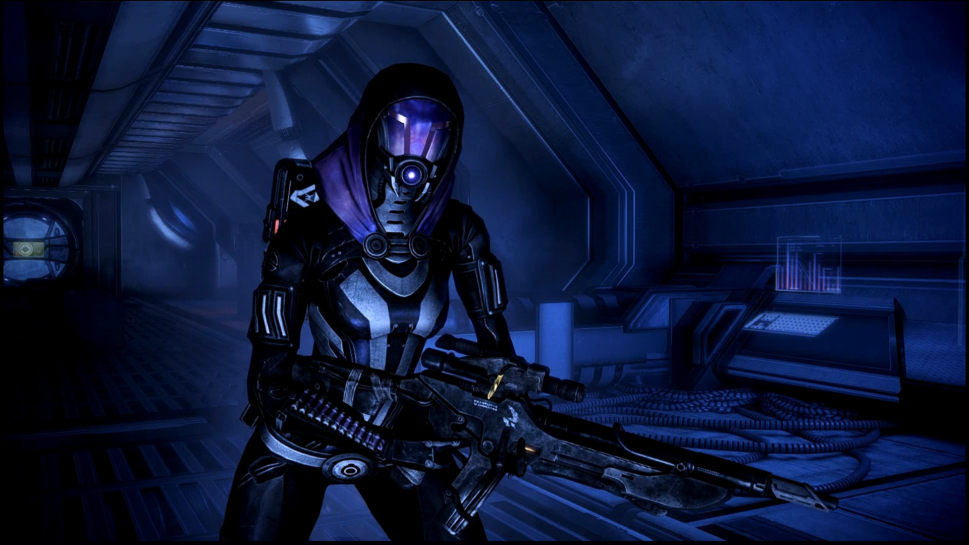 … Mass Effect 3 Tali Dreamscene by droot1986