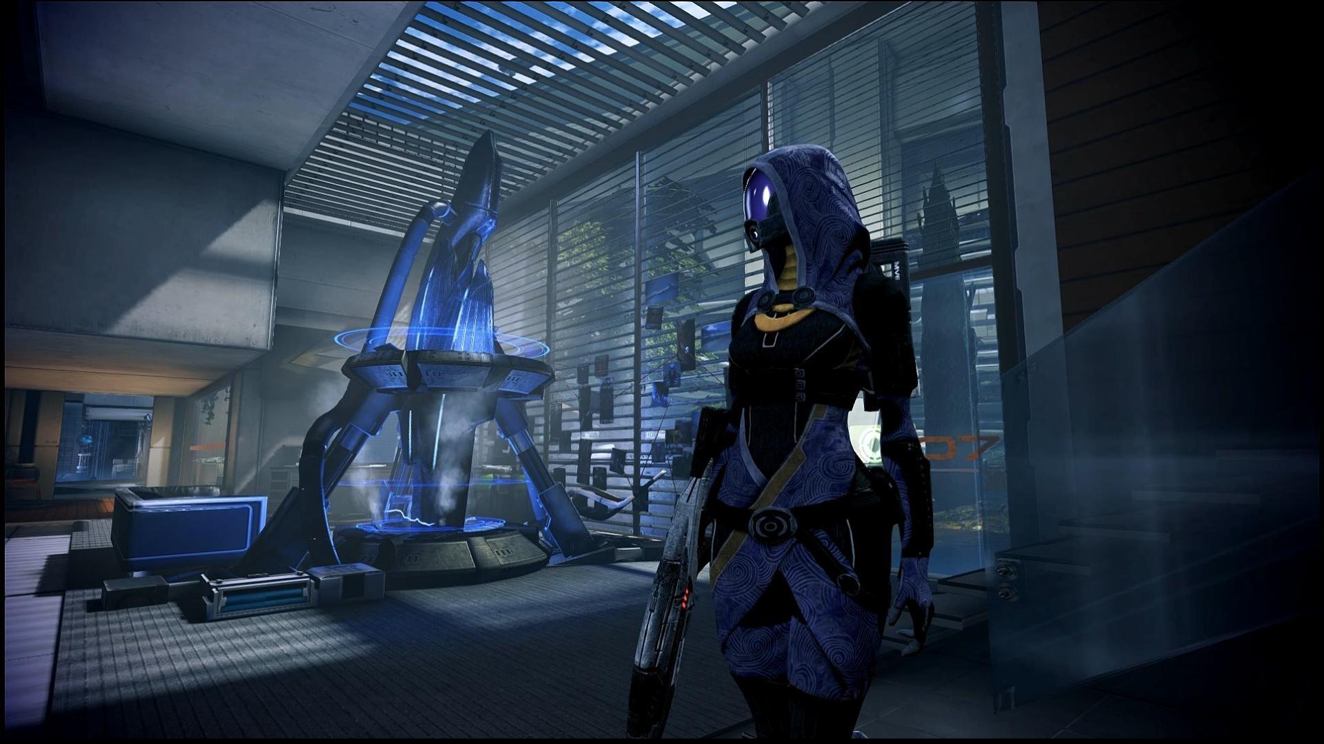 … Mass Effect 3 Tali in Bryson's Office Dreamscene by droot1986