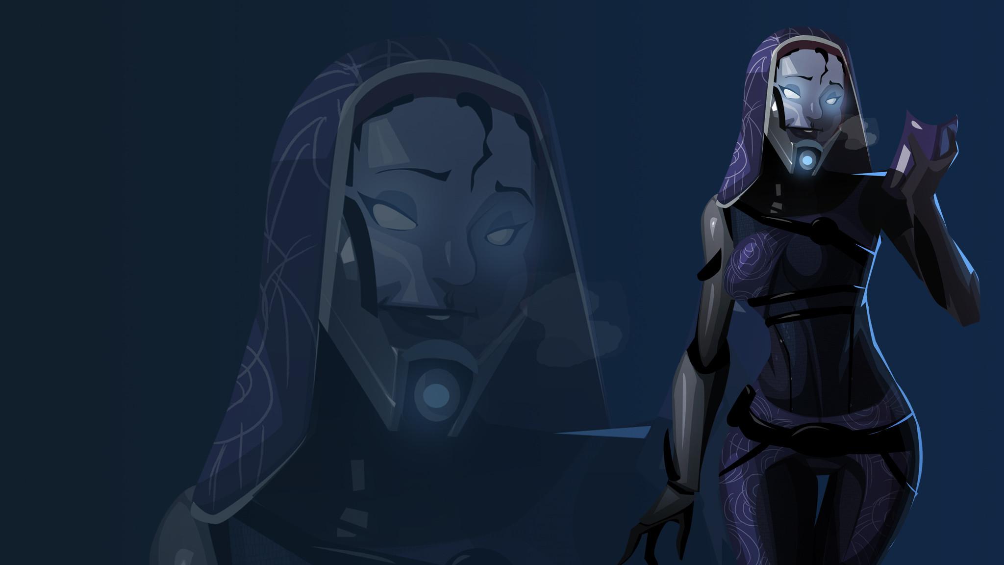 Maskless Tali Wallpaper by morganagod.deviantart.com on @deviantART · Mass  Effect Tali