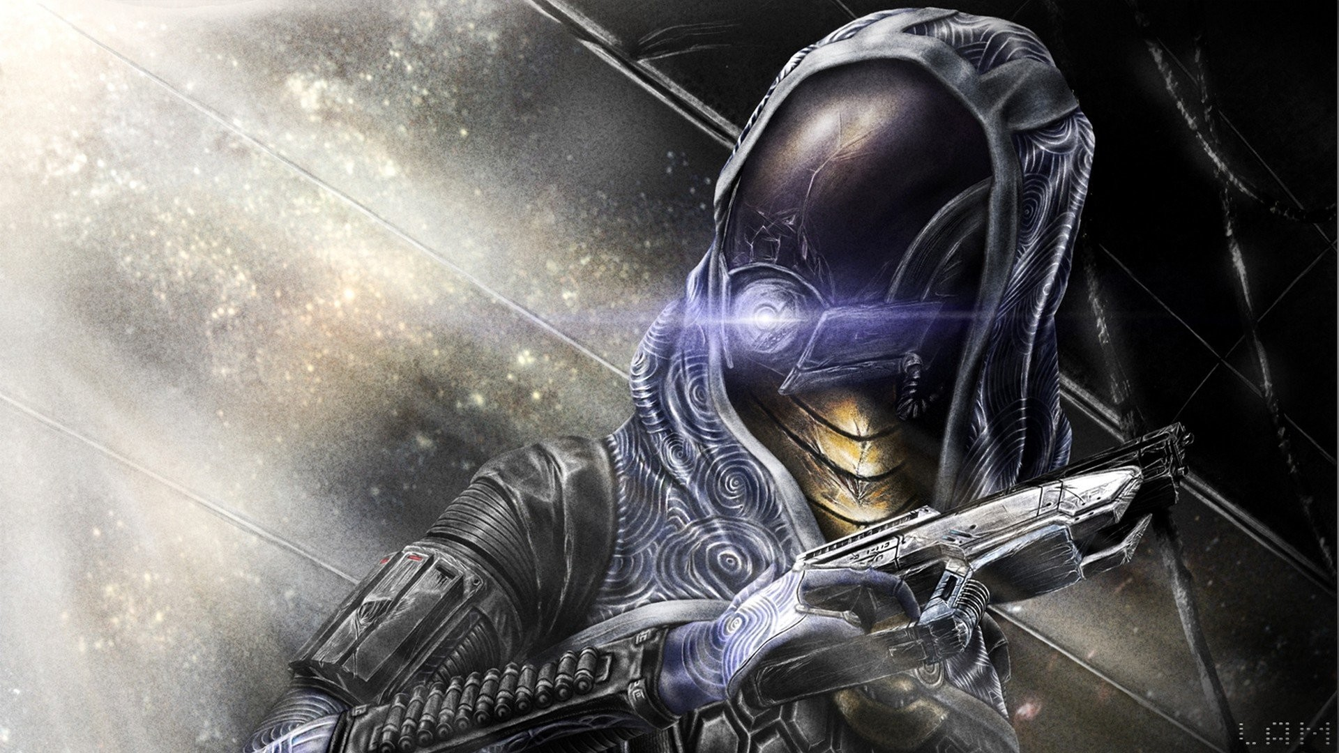Artwork Games Mass Effect 3 Tali Zora