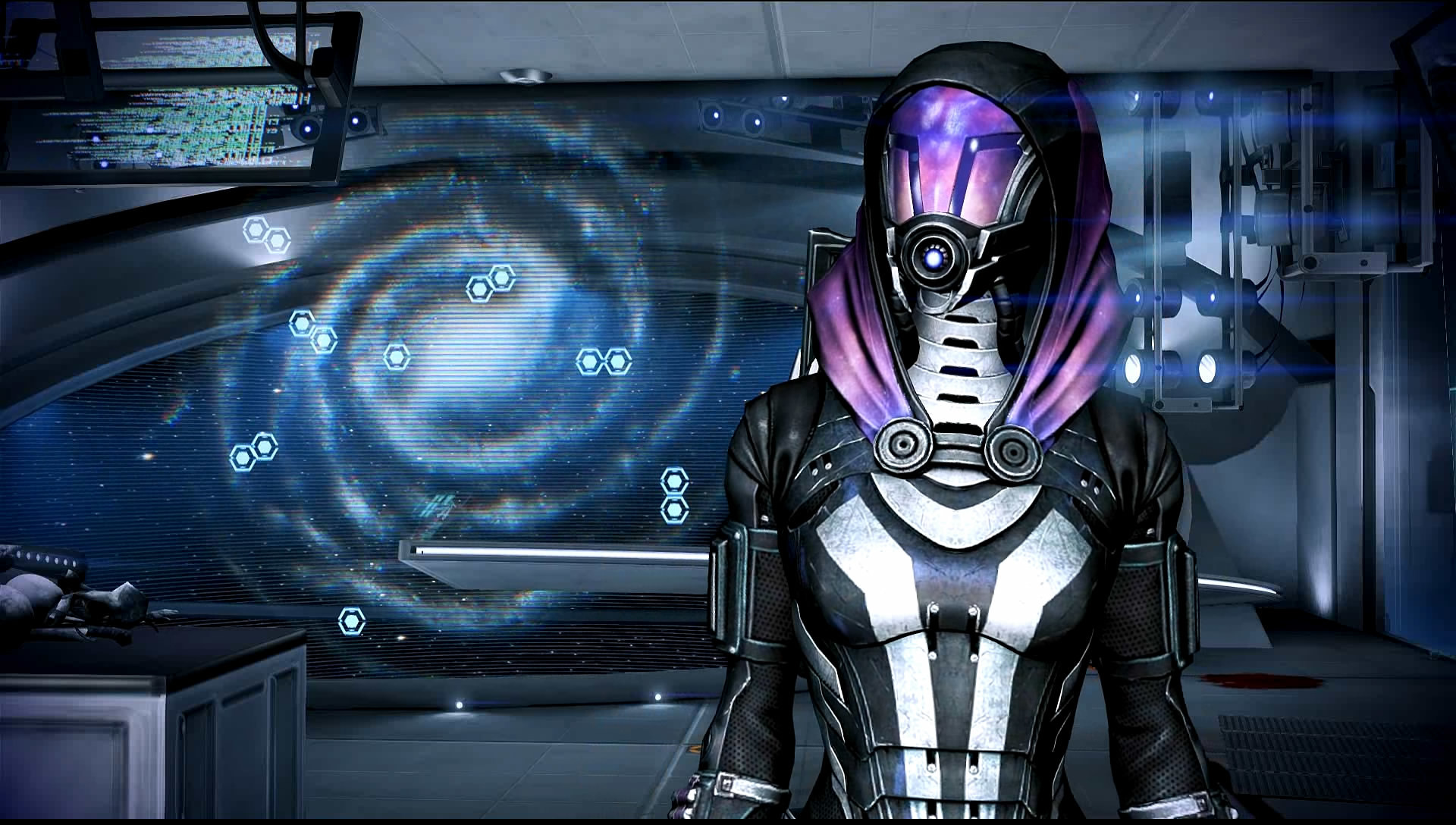 … Mass Effect 3 Tali in Dr Brysons Office Dreamscene by droot1986