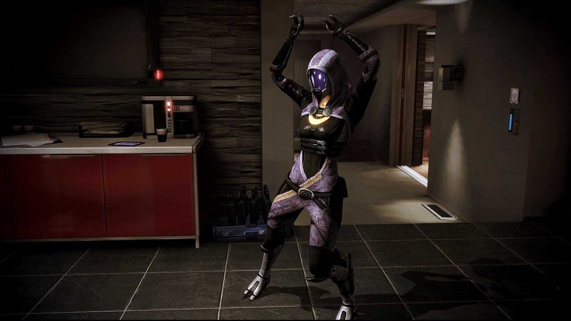 … Mass Effect 3 Tali Dancing Dreamscene by droot1986