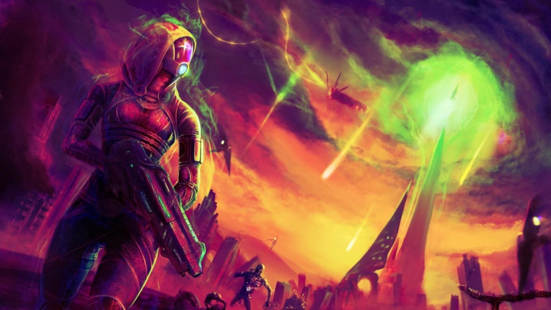 Video Game – Mass Effect Tali'Zorah Wallpaper