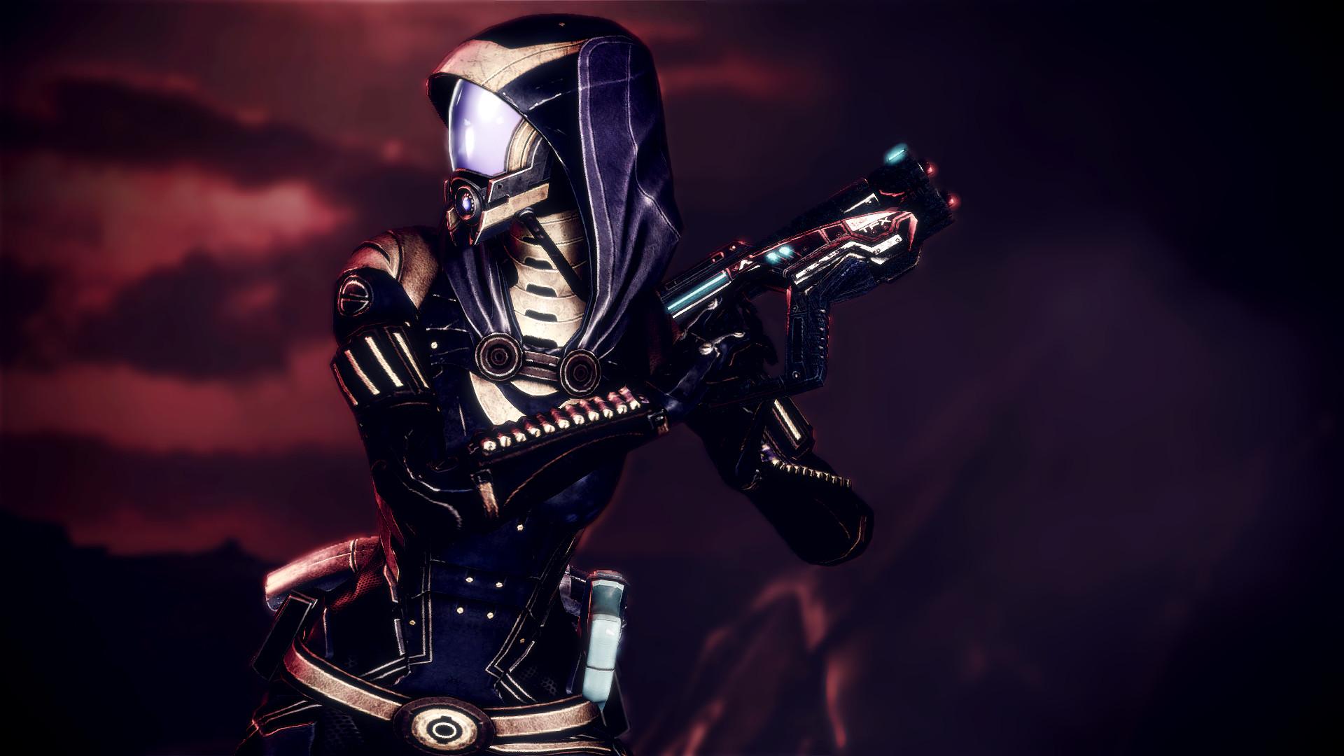 Mass Effect Tali Zorah Warrior sci-fi cyborg wallpaper     210869    WallpaperUP