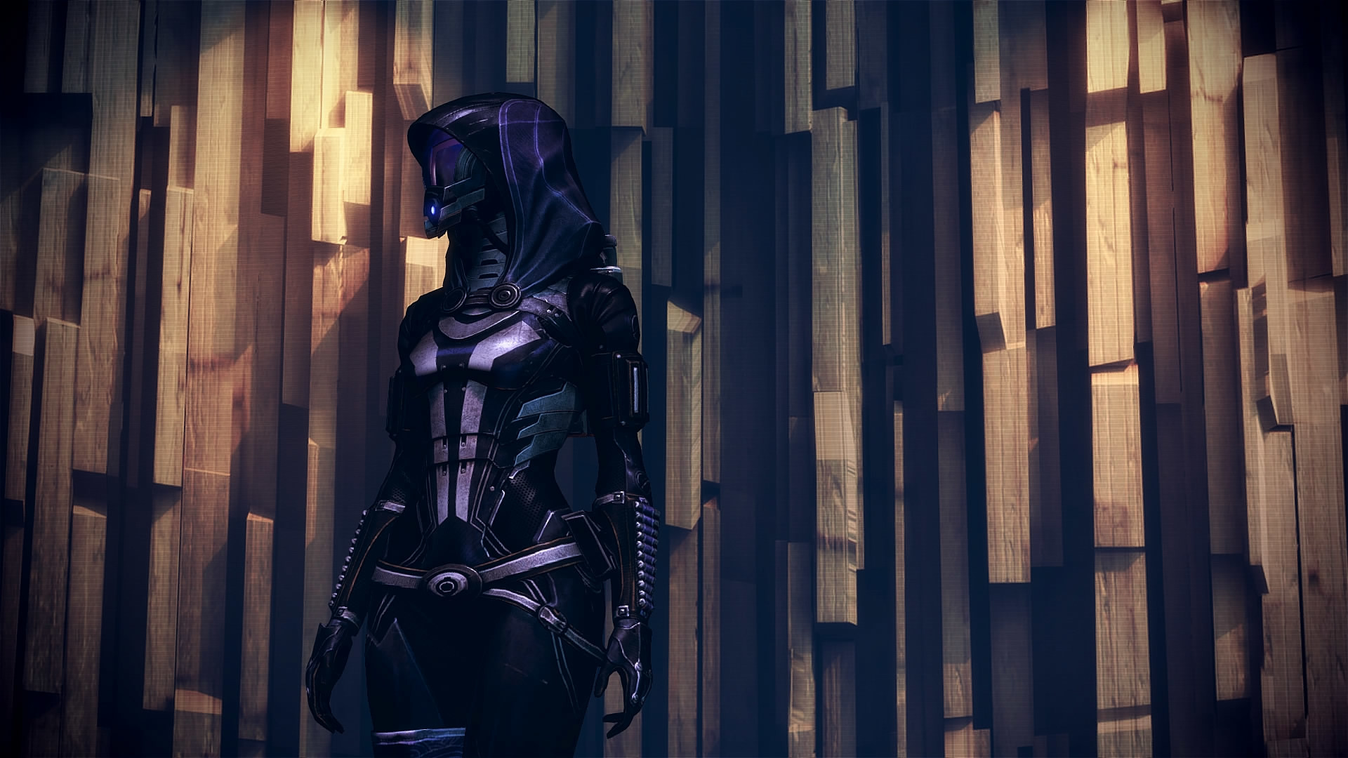 … Mass Effect 3 Tali Custom Wall Dreamscene by droot1986
