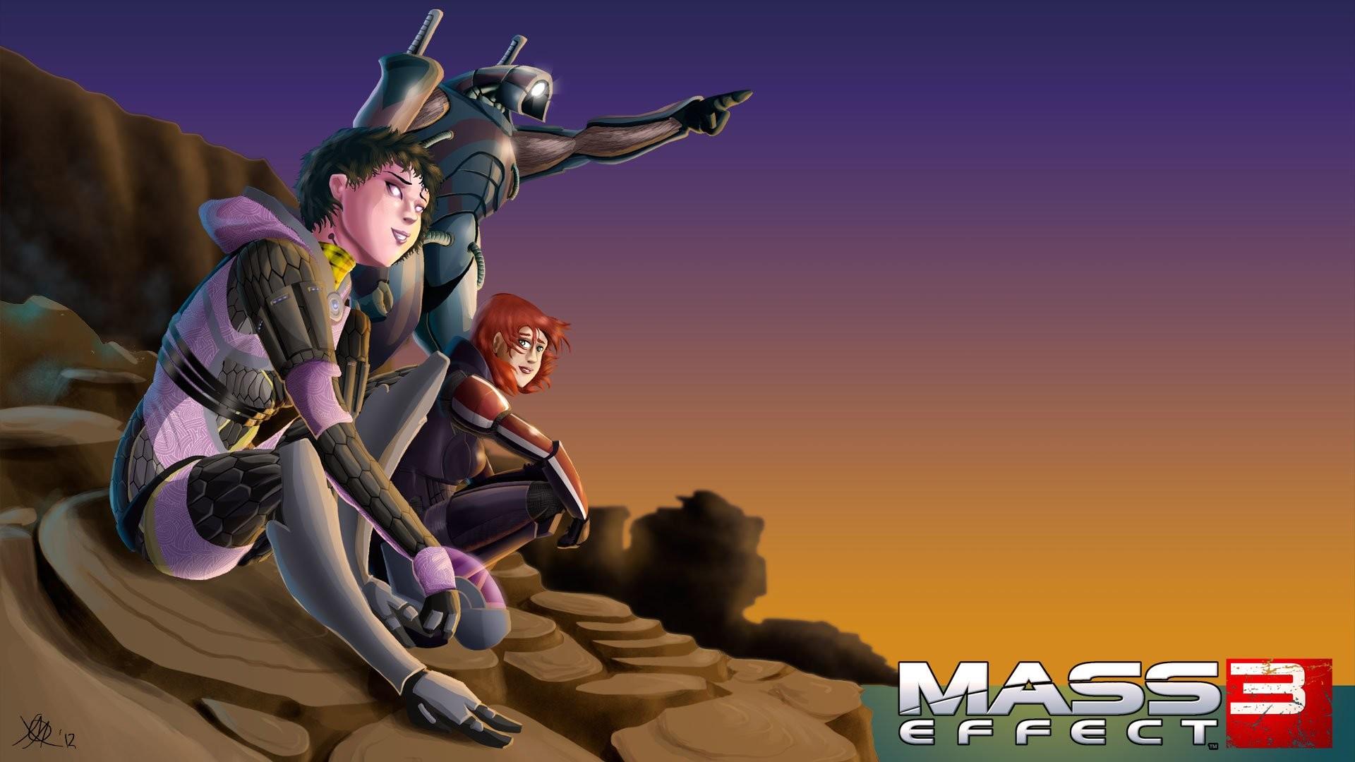 Video Game – Mass Effect 3 Legion (Mass Effect) Commander Shepard Tali'Zorah
