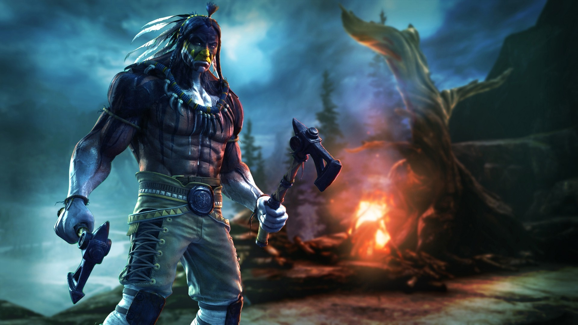 Killer Instinct, Video Games, Native Americans, Axes Wallpapers HD /  Desktop and Mobile Backgrounds