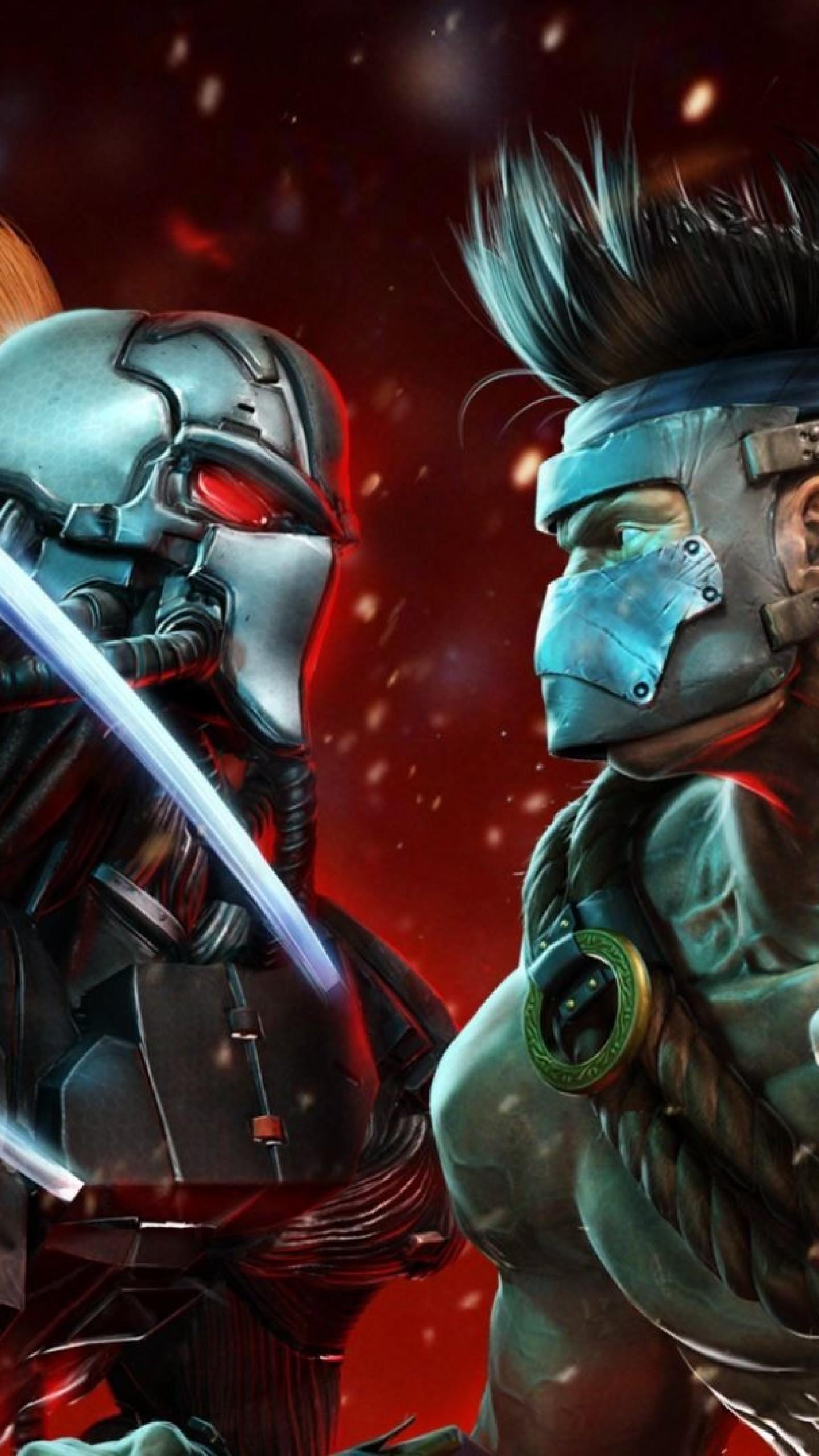 Wallpaper killer instinct, fulgore, fighters, battle, characters,  cyborg, fight