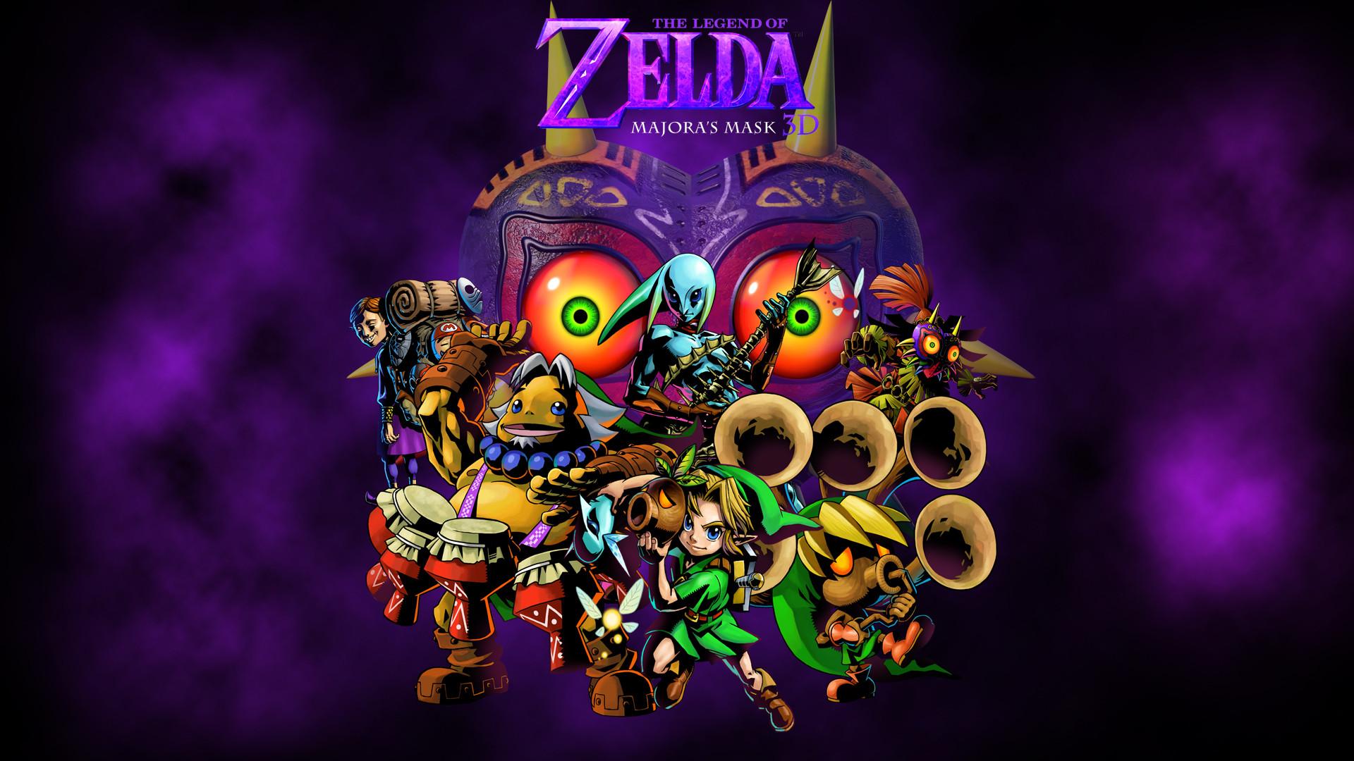 … Zelda Majora's Mask 3ds wallpaper by zupertompa