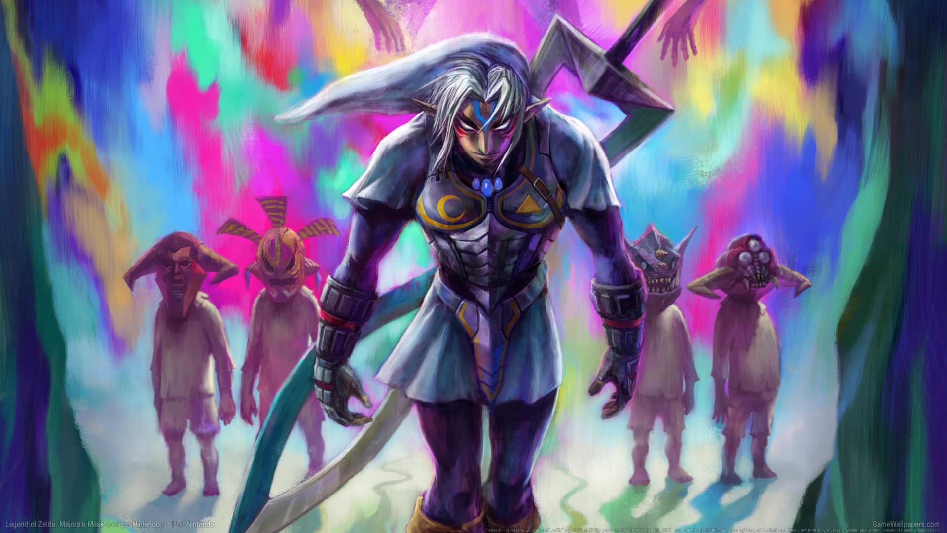 … Legend of Zelda: Majora's Mask wallpaper or background 02