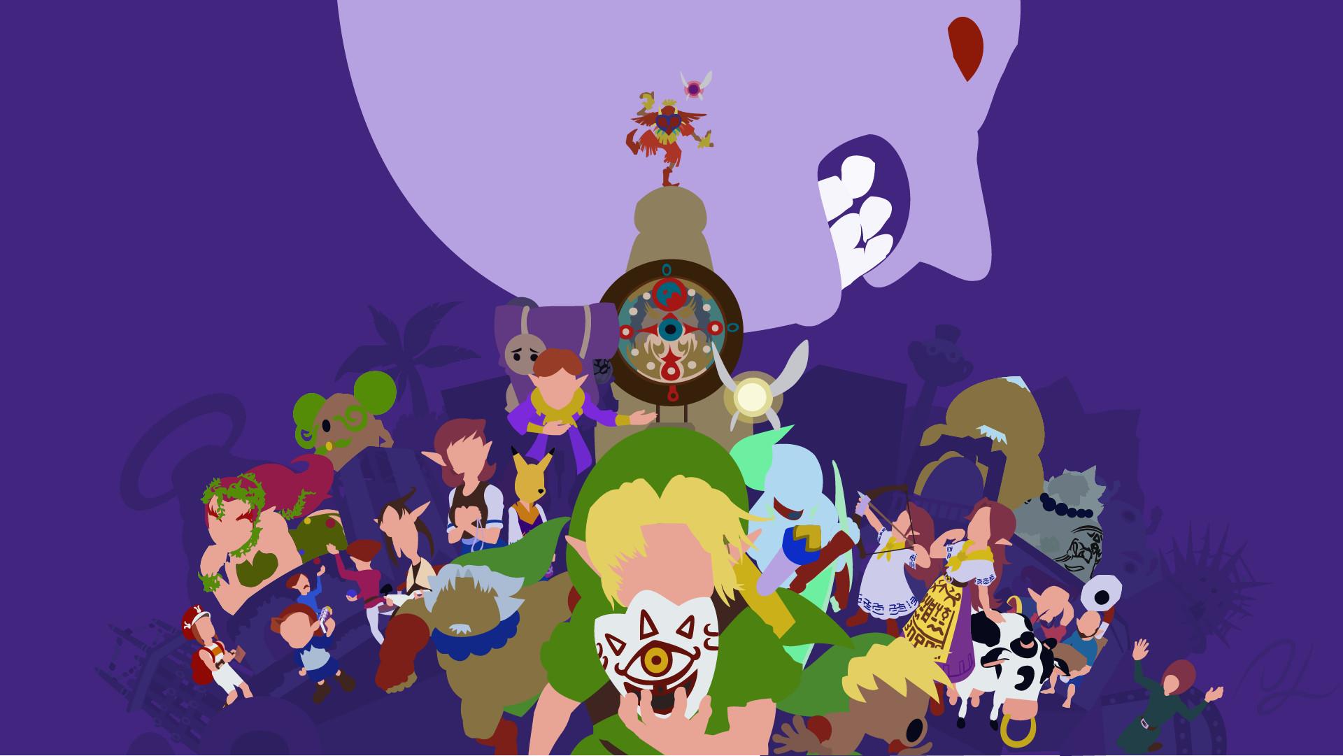 … The Legend of Zelda: Majora's Mask by DisasterMastr
