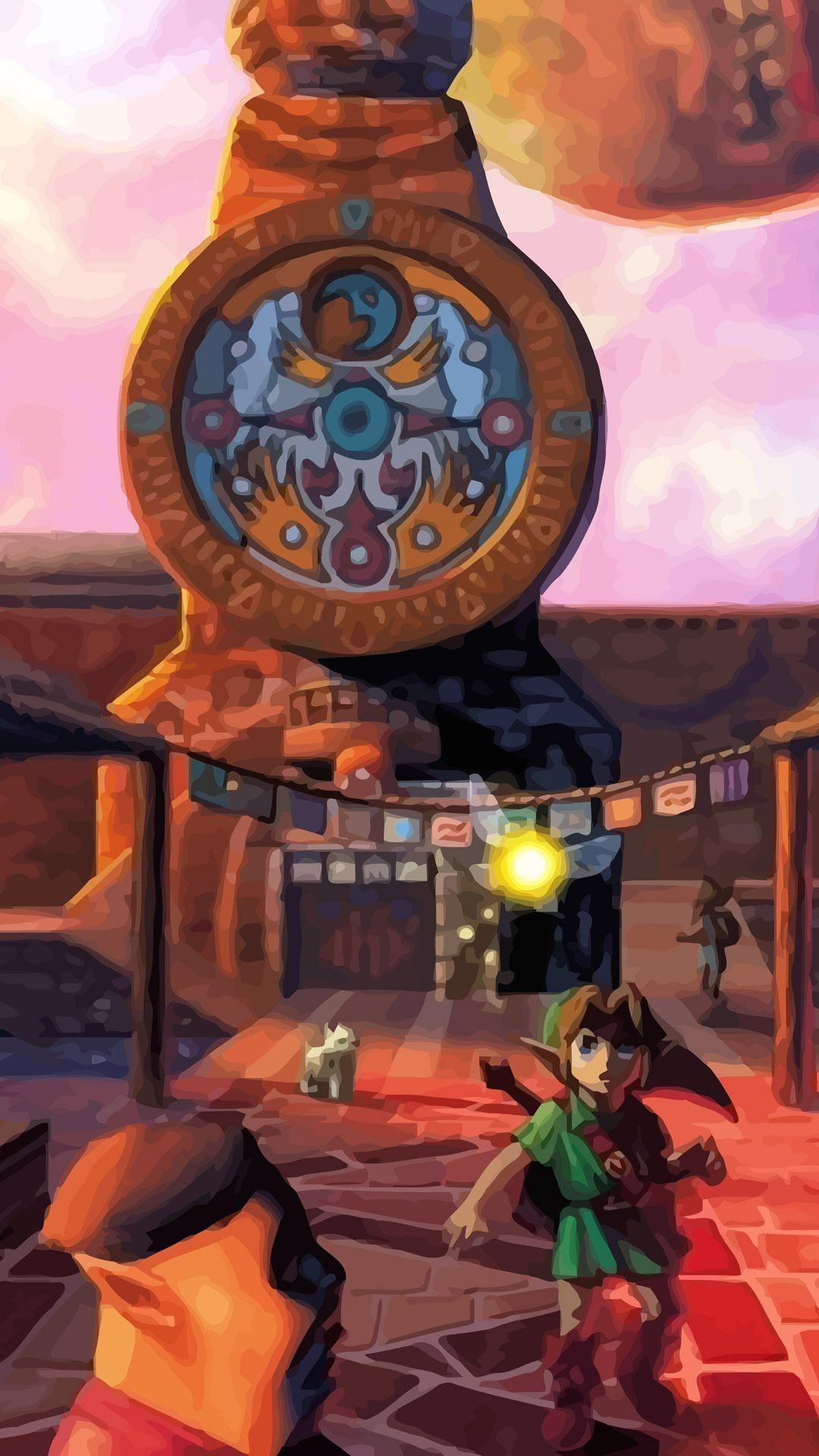 The Legend of Zelda – Majoras Mask Mobile Wallpaper 9363
