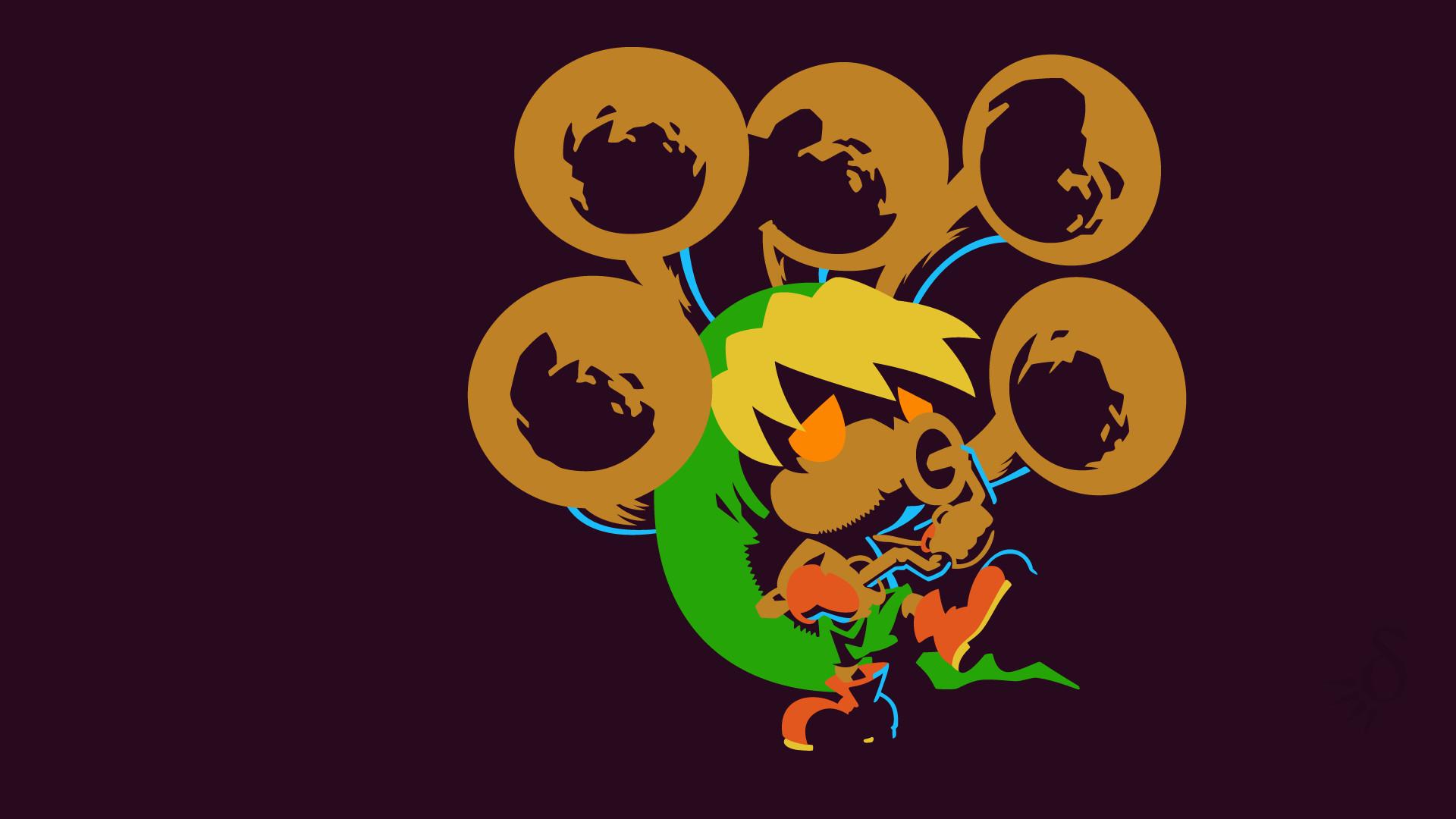 Video Game – The Legend Of Zelda: Majora's Mask Deku Link Link The Legend of
