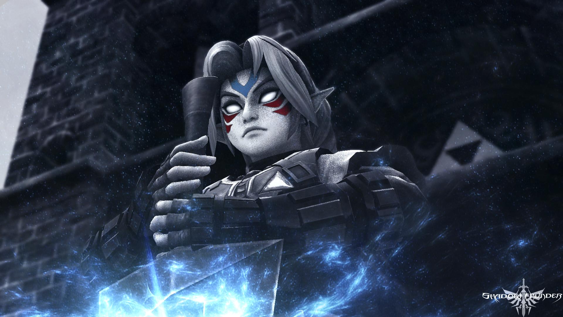Video Game – The Legend Of Zelda: Majora's Mask Link Fierce Deity Link The  Legend