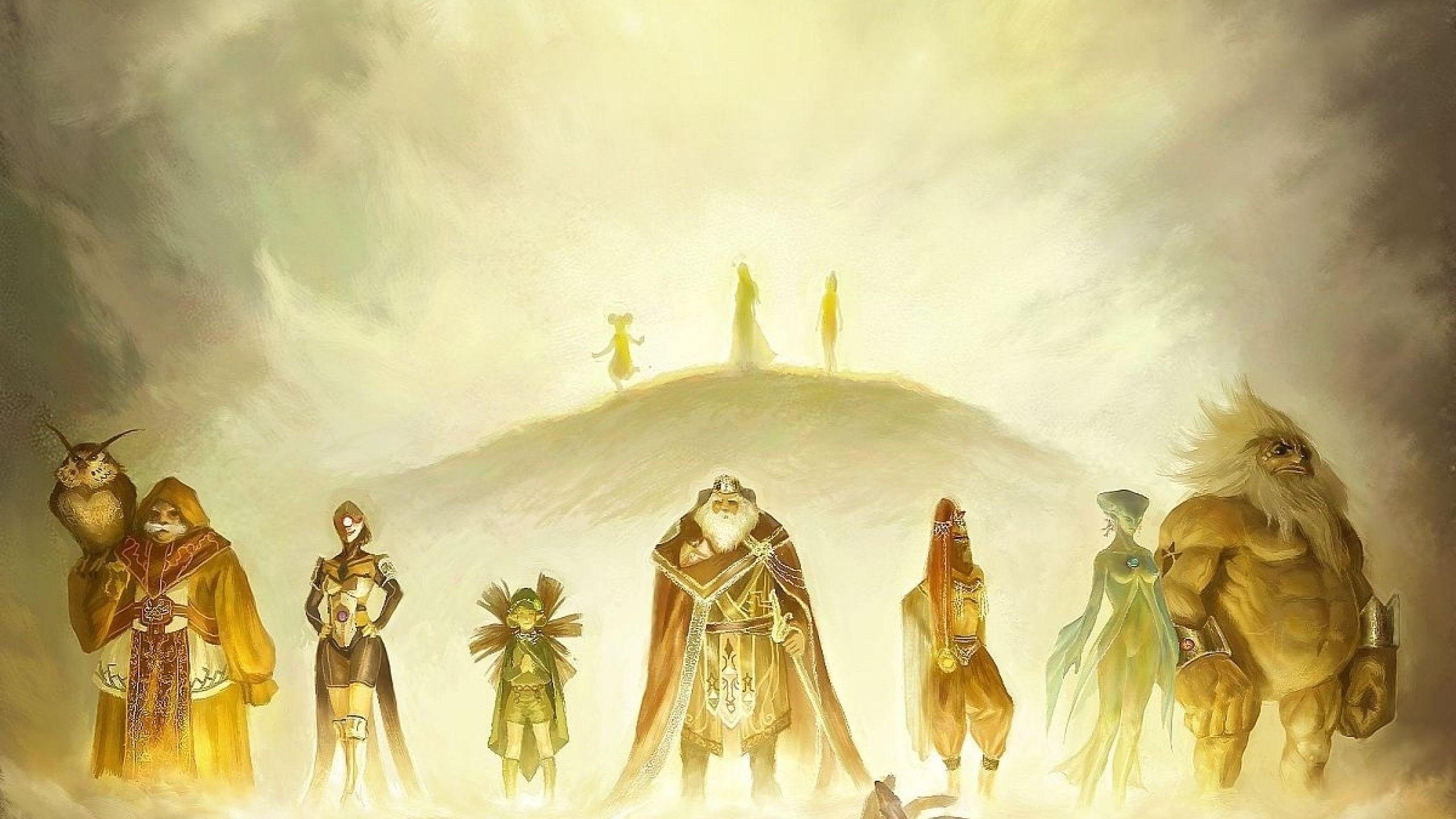 Legend Of Zelda Twilight Princess Wallpapers High Resolution For Desktop  Wallpaper 2560 x 1440 px 1.08