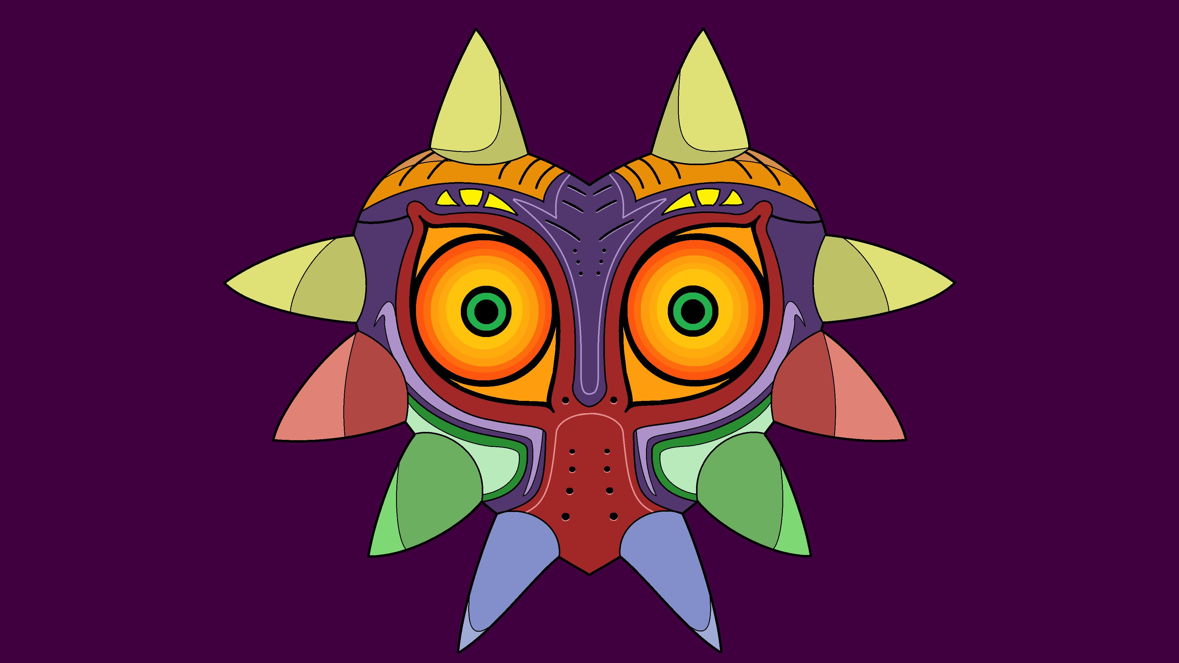 … Majora's Mask Wallpaper (version 2) by thefish95