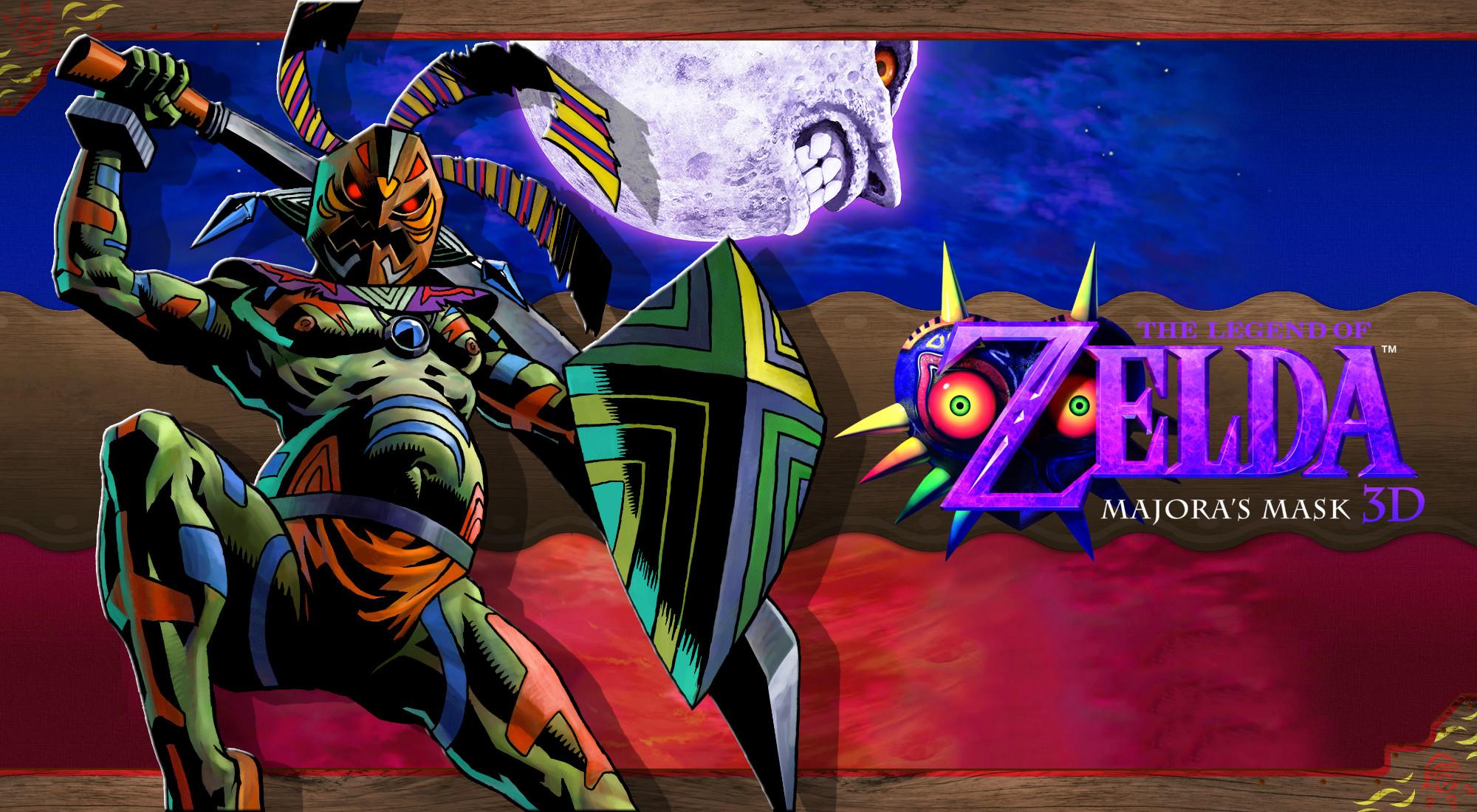 … Majora's Mask 3D Wallpaper – Odolwa by DaKidGaming