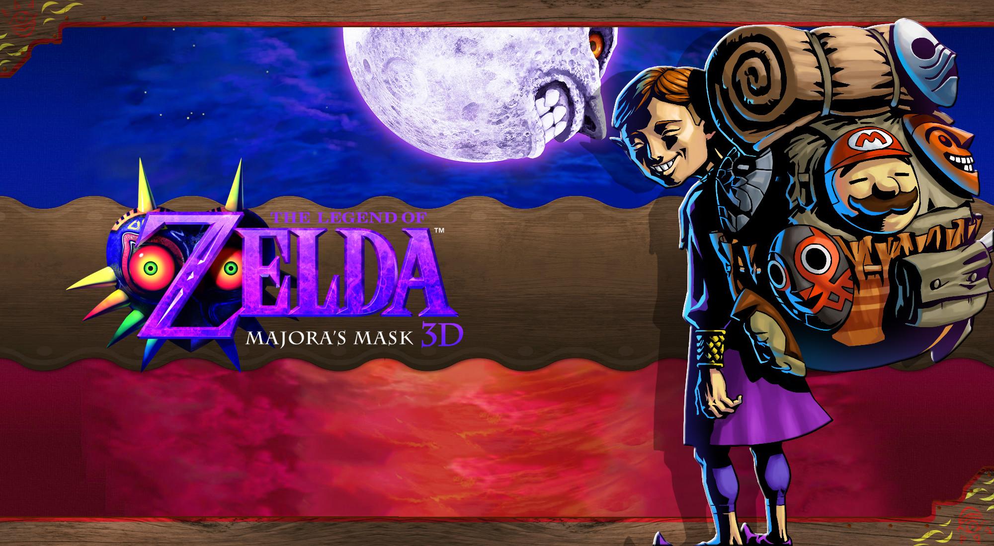 … Majora's Mask 3D Wallpaper – Happy Mask Salesman 2 by DaKidGaming